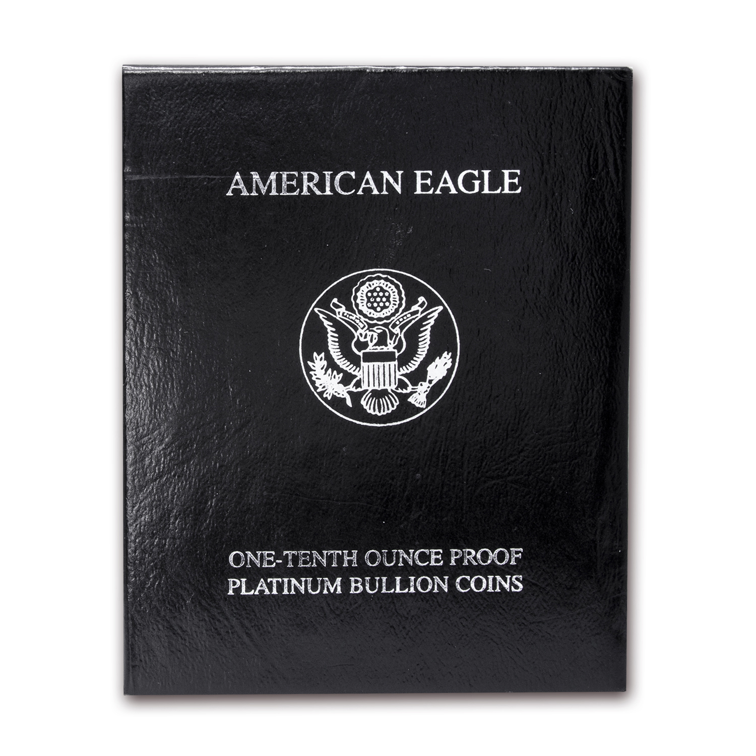 U.S. Mint Box - 2000 1/10 oz Platinum Eagle Proof Coin