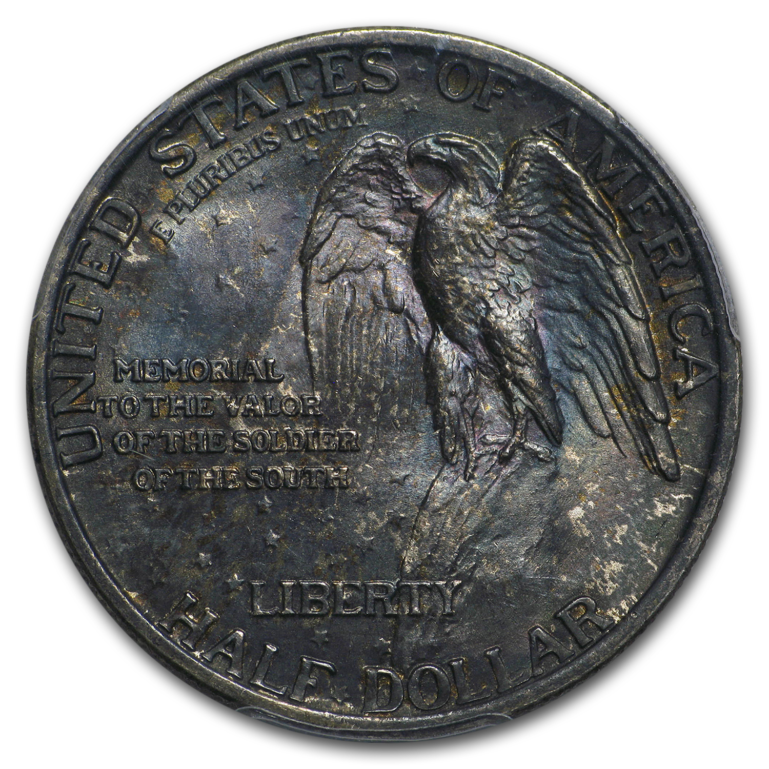 1925 Stone Mountain Memorial Half MS-67 PCGS (Toned)