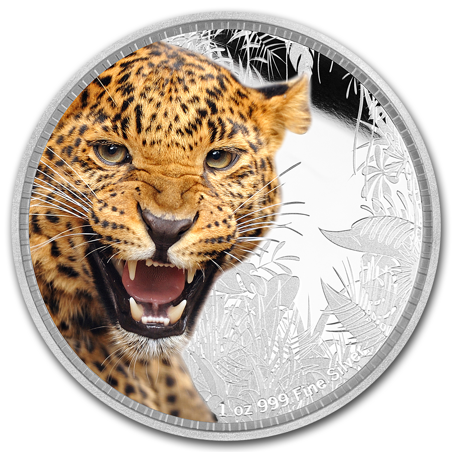 2016 Niue 1 oz Silver Kings of Continents Jaguar Proof