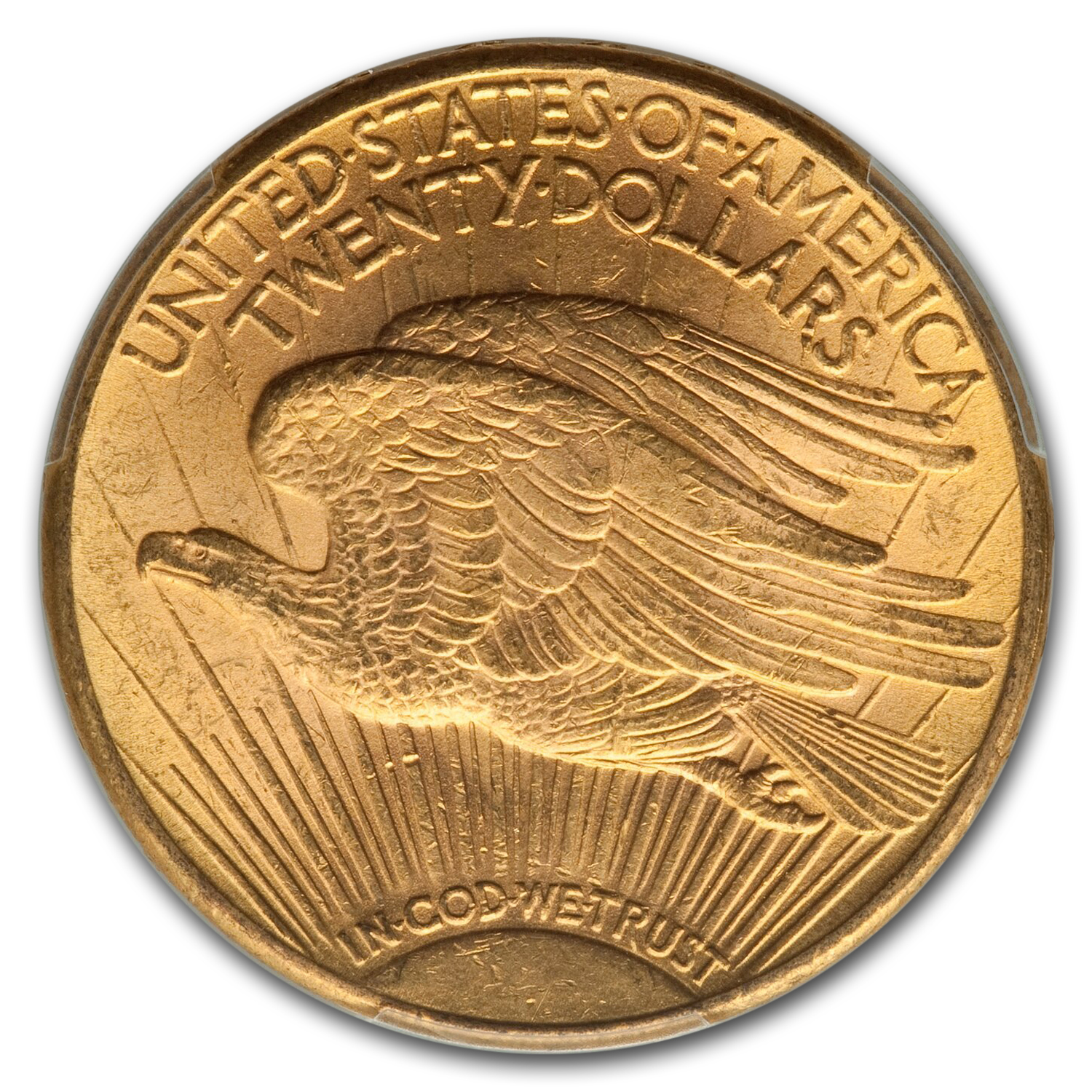 1914-D $20 Saint-Gaudens Gold Double Eagle MS-65+ PCGS