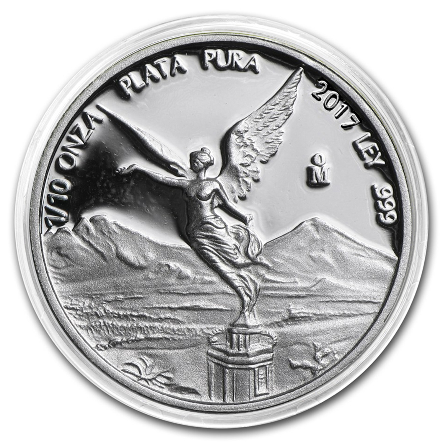 2017 Mexico 1/10 oz Silver Libertad Proof (In Capsule)