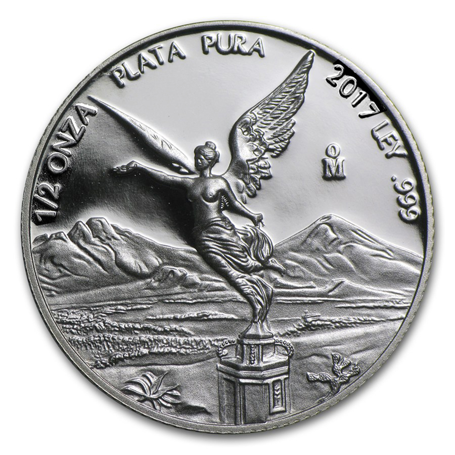 2017 Mexico 1/2 oz Silver Libertad Proof (In Capsule)