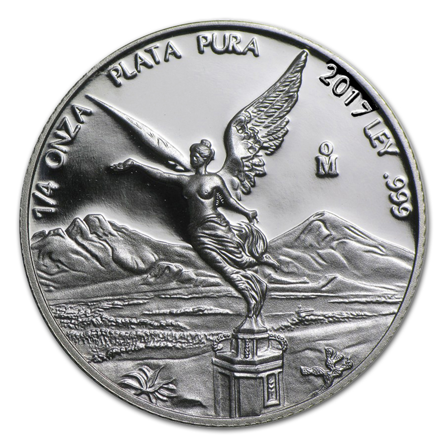 2017 Mexico 1/4 oz Silver Libertad Proof (In Capsule)