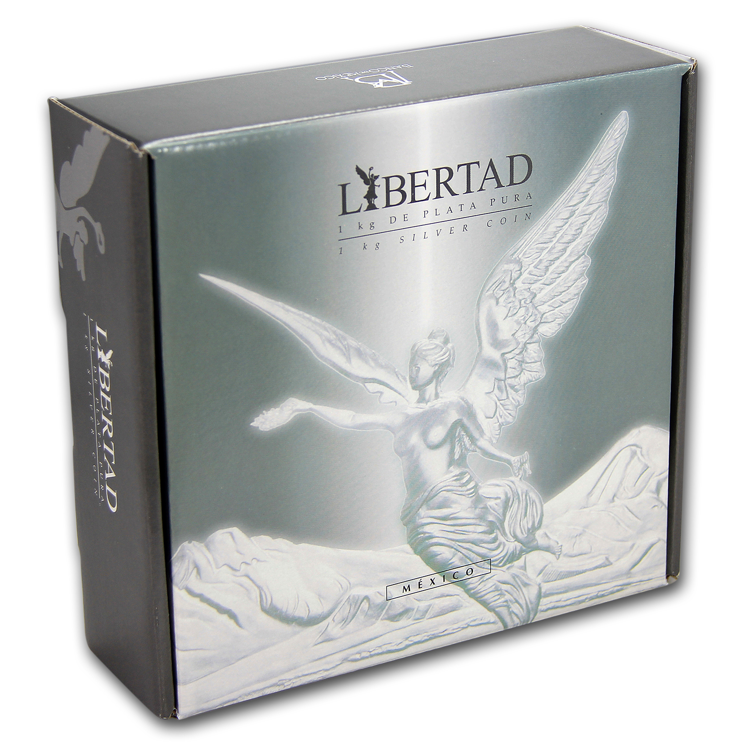 2016 Mexico 1 kilo Silver Libertad Proof Like (w/Box & COA)