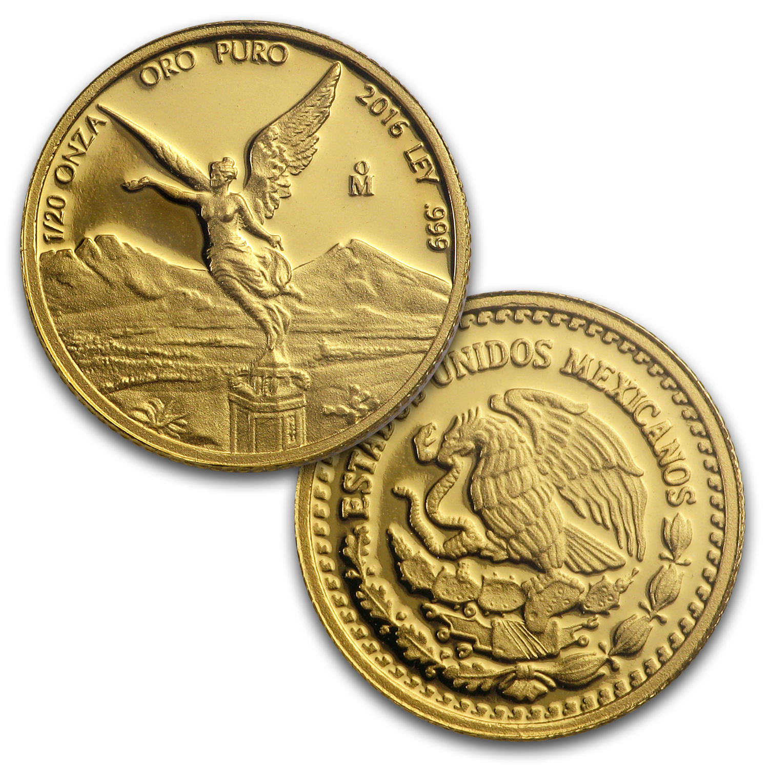 2016 Mexico 5-Coin Gold Libertad Proof Set (1.9 oz, Wood Box)