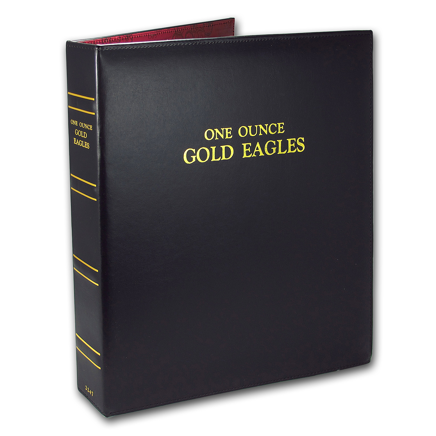 CAPS Album for Gold American Eagle Date Set (1986-2017)
