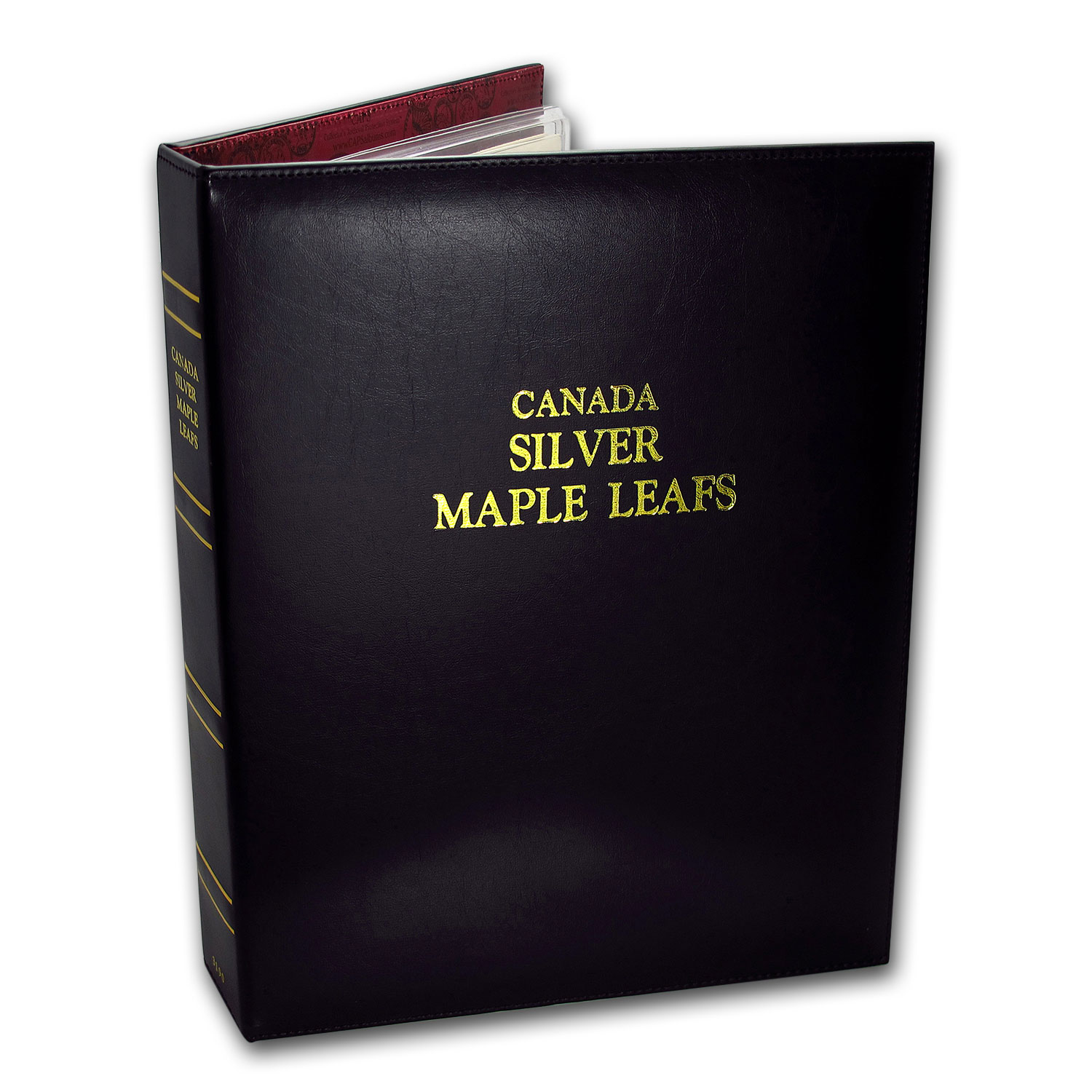 Caps Album For Silver Canadian Maple Leaf Date Set 1988