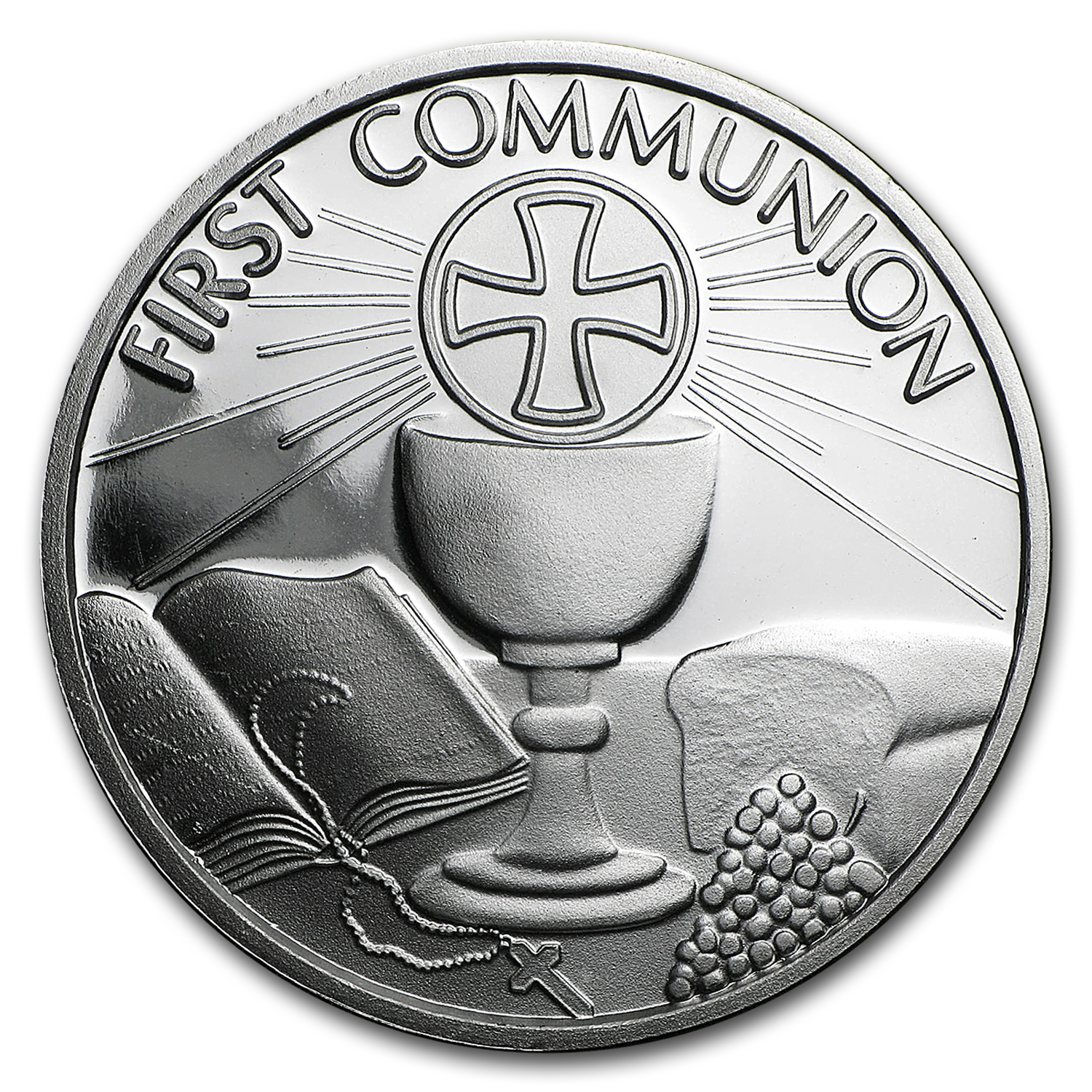 1 oz Silver Round - First Communion