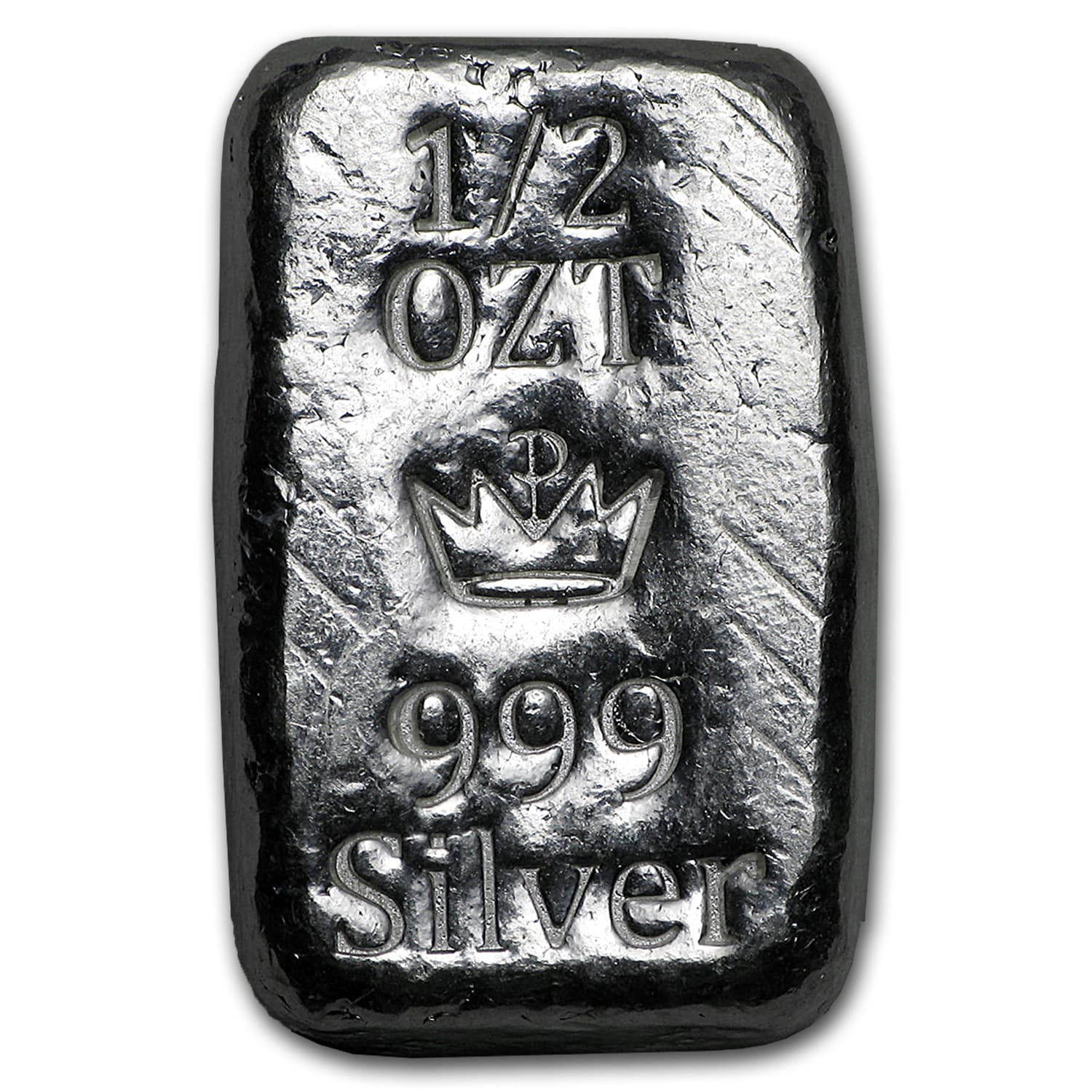 1/2 oz Silver Bar - Monarch Precious Metals