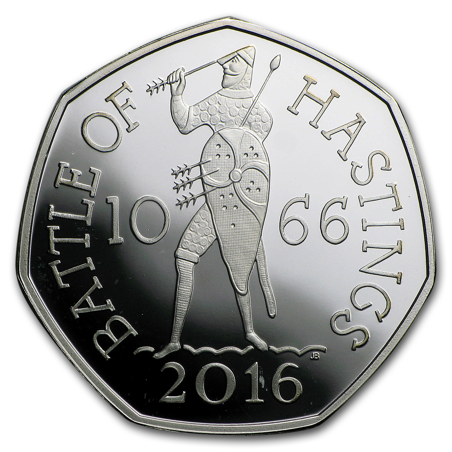 2016 GB 50 Pence Silver Battle of Hastings Proof