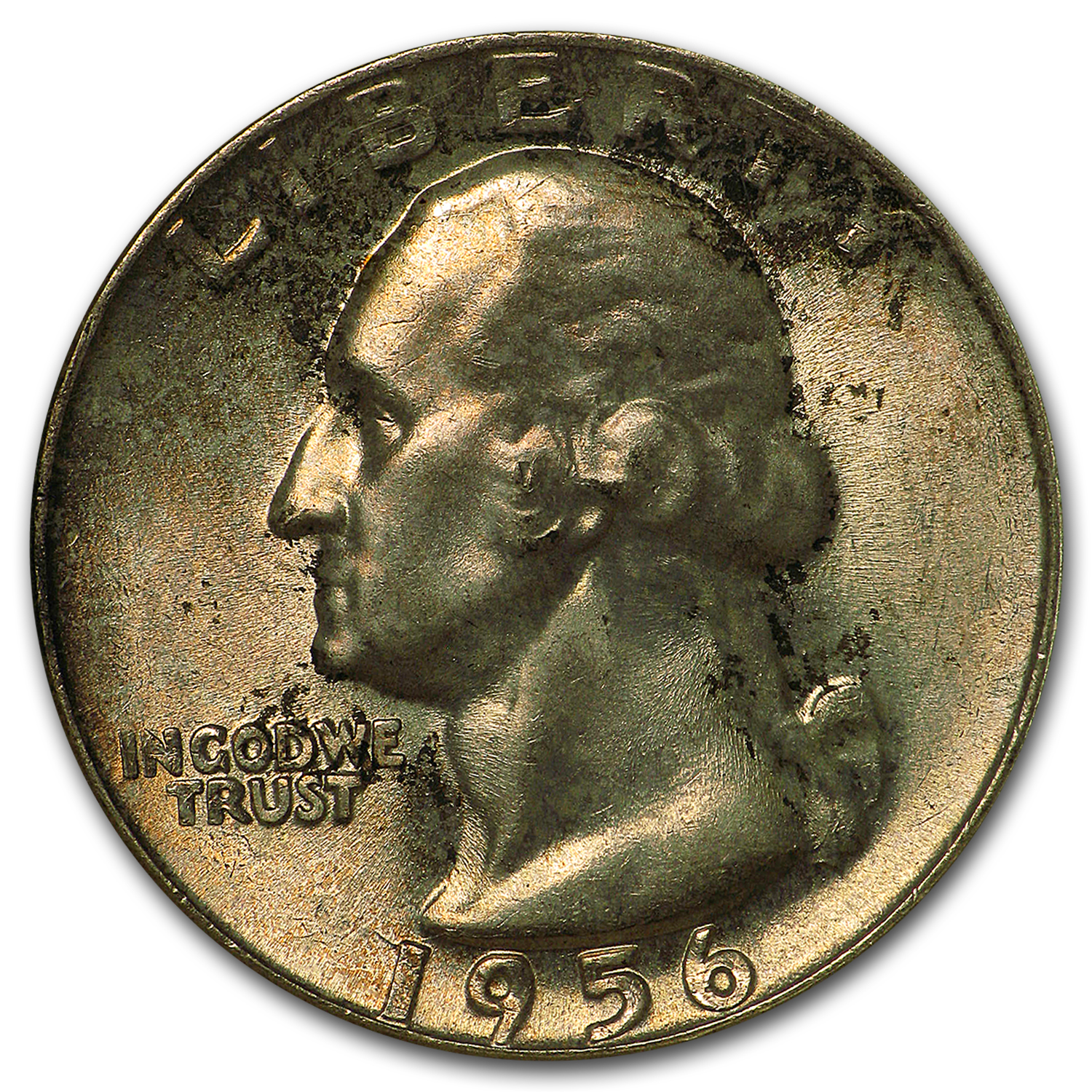 1956 Washington Quarter MS-67 NGC (Toned)