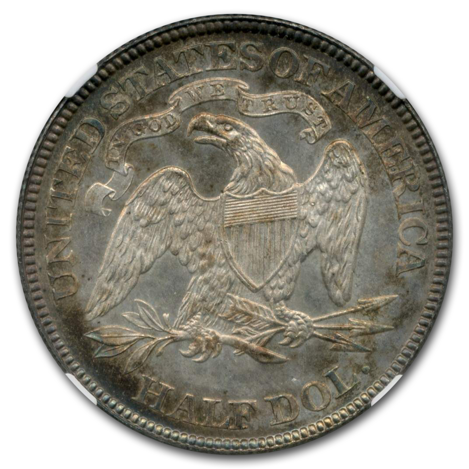 1880 Liberty Seated Half Dollar MS-66+ * PL NGC
