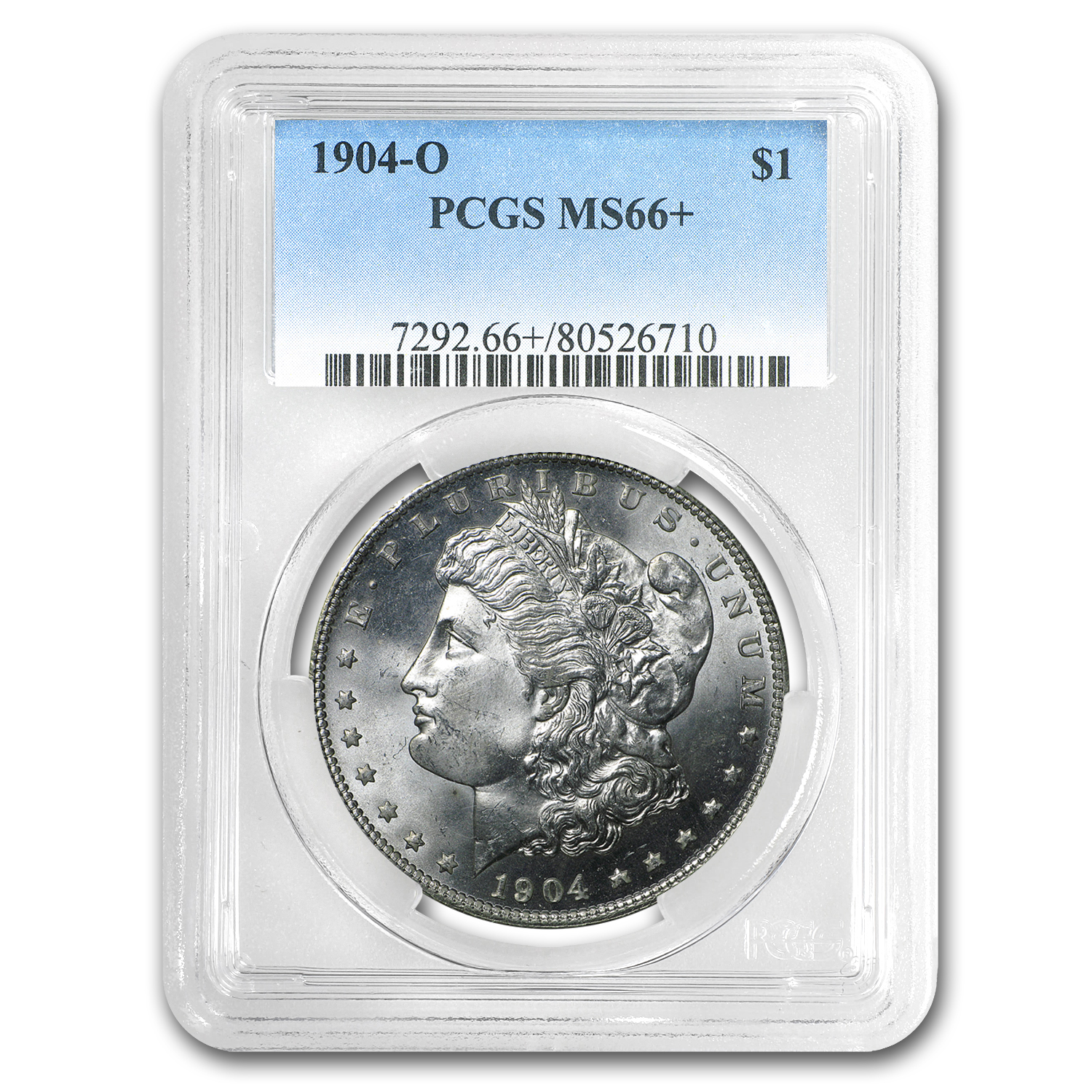 1904-O Morgan Dollar MS-66+ PCGS