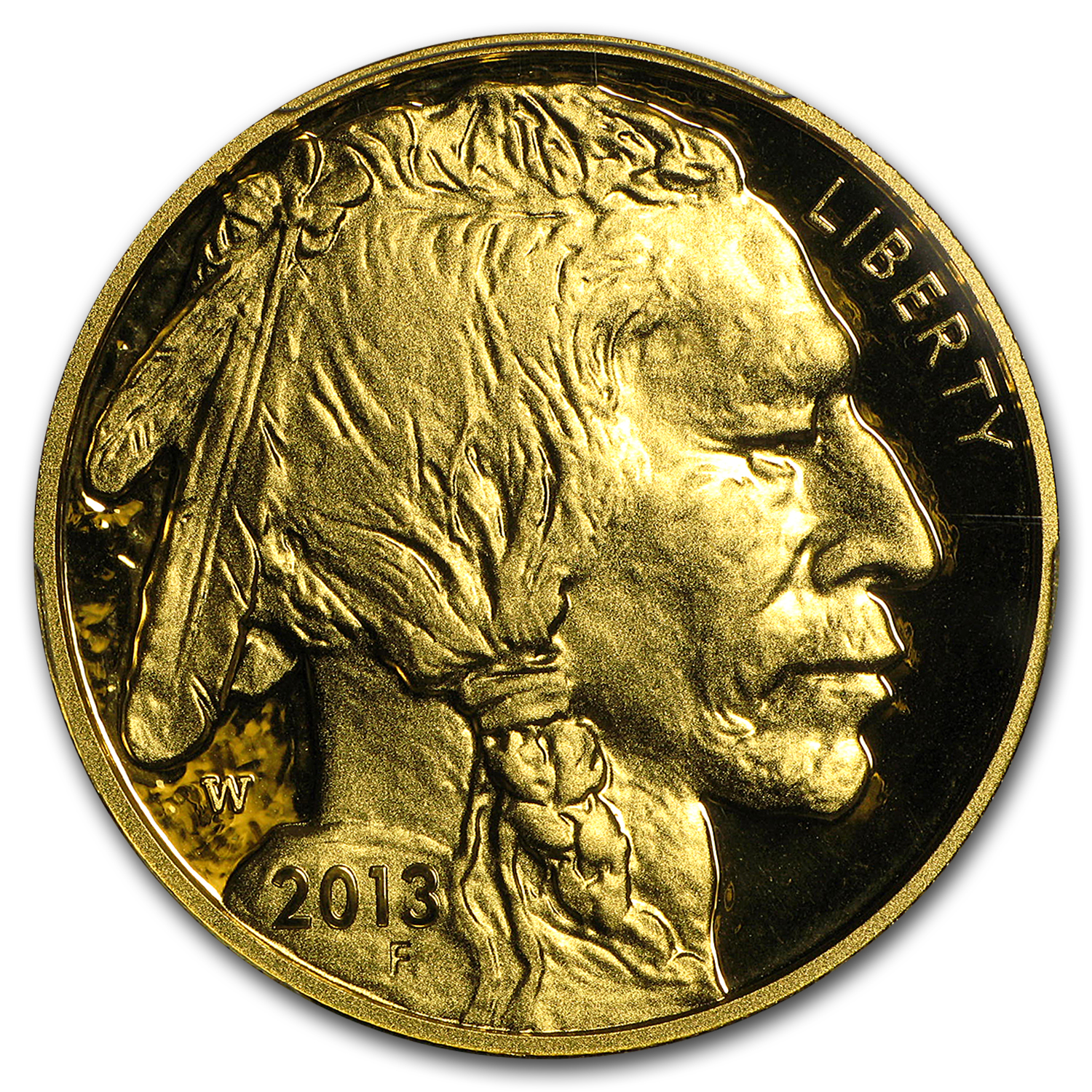 2013-W 1 oz Proof Gold Buffalo PR-70 PCGS