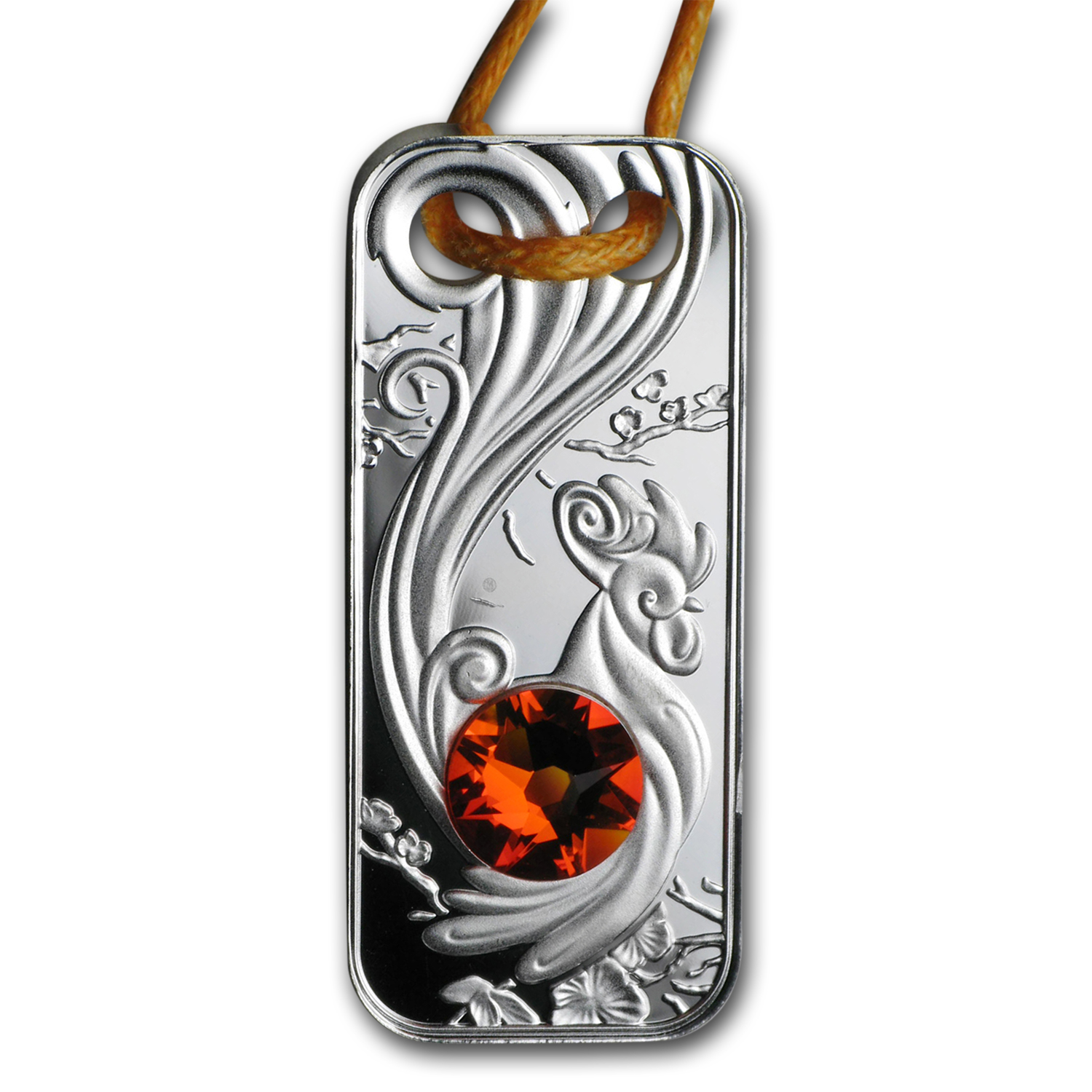 2017 Niue Silver Year of the Rooster Pendant