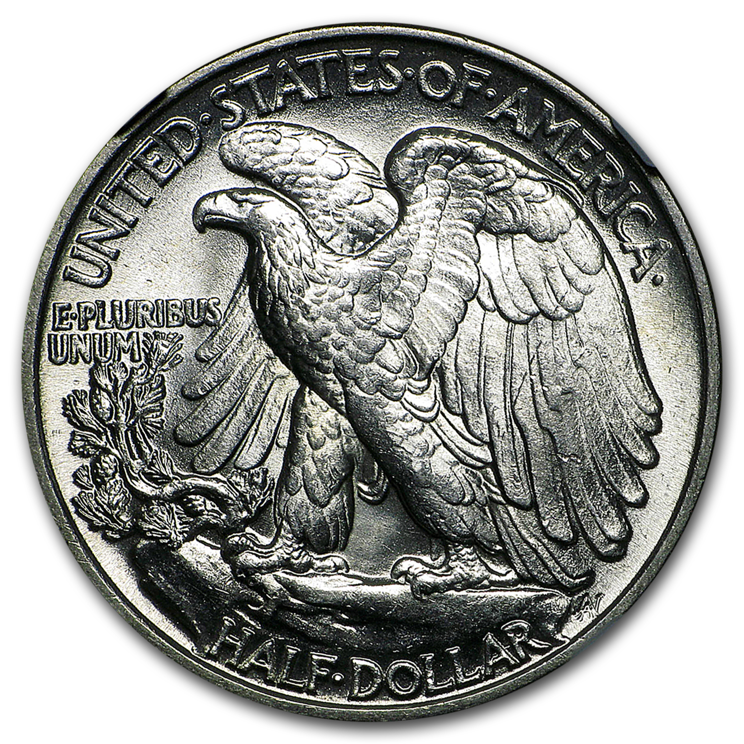 1945 Walking Liberty Half Dollar MS-63 NGC