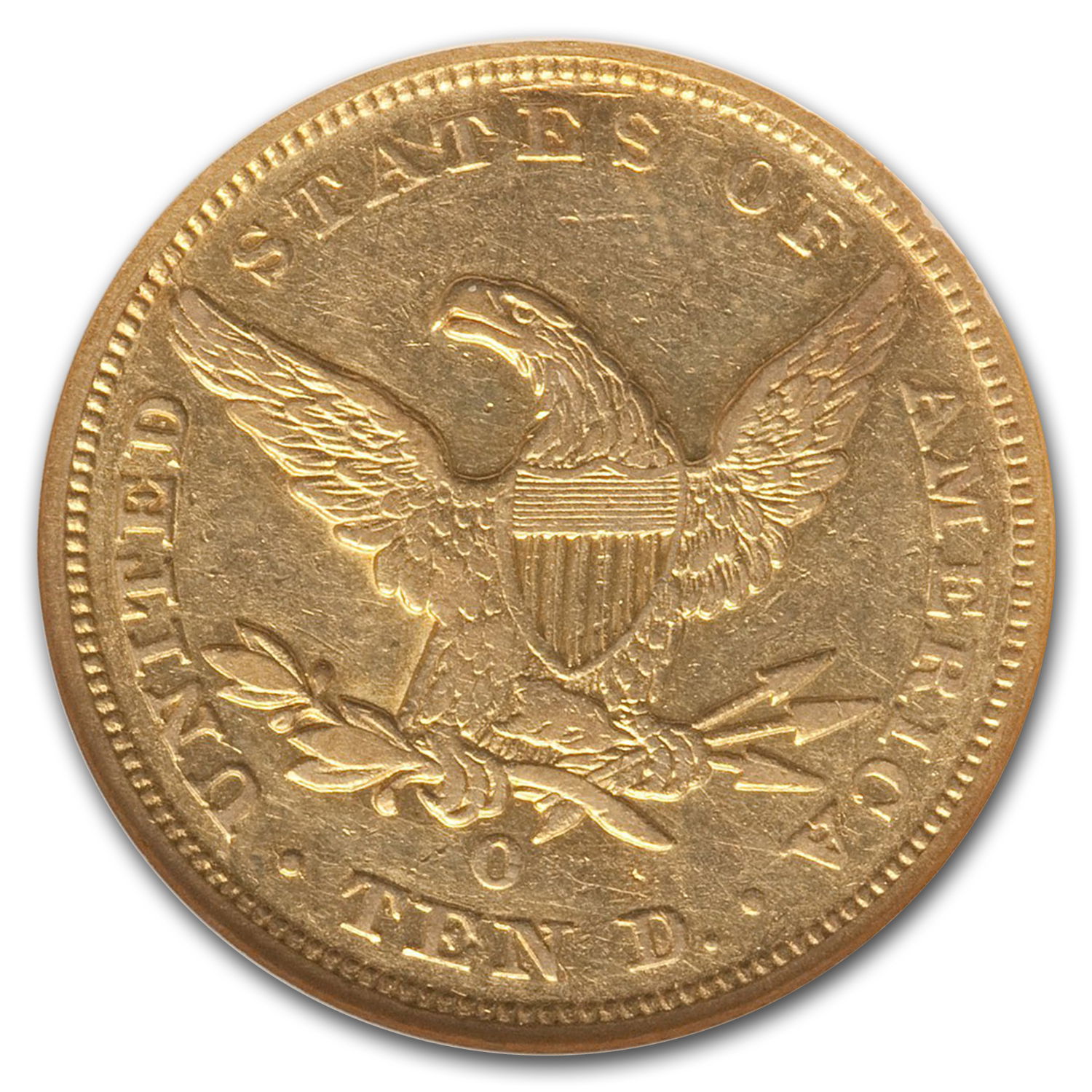 1847-O $10 Liberty Gold Eagle XF-40 NGC