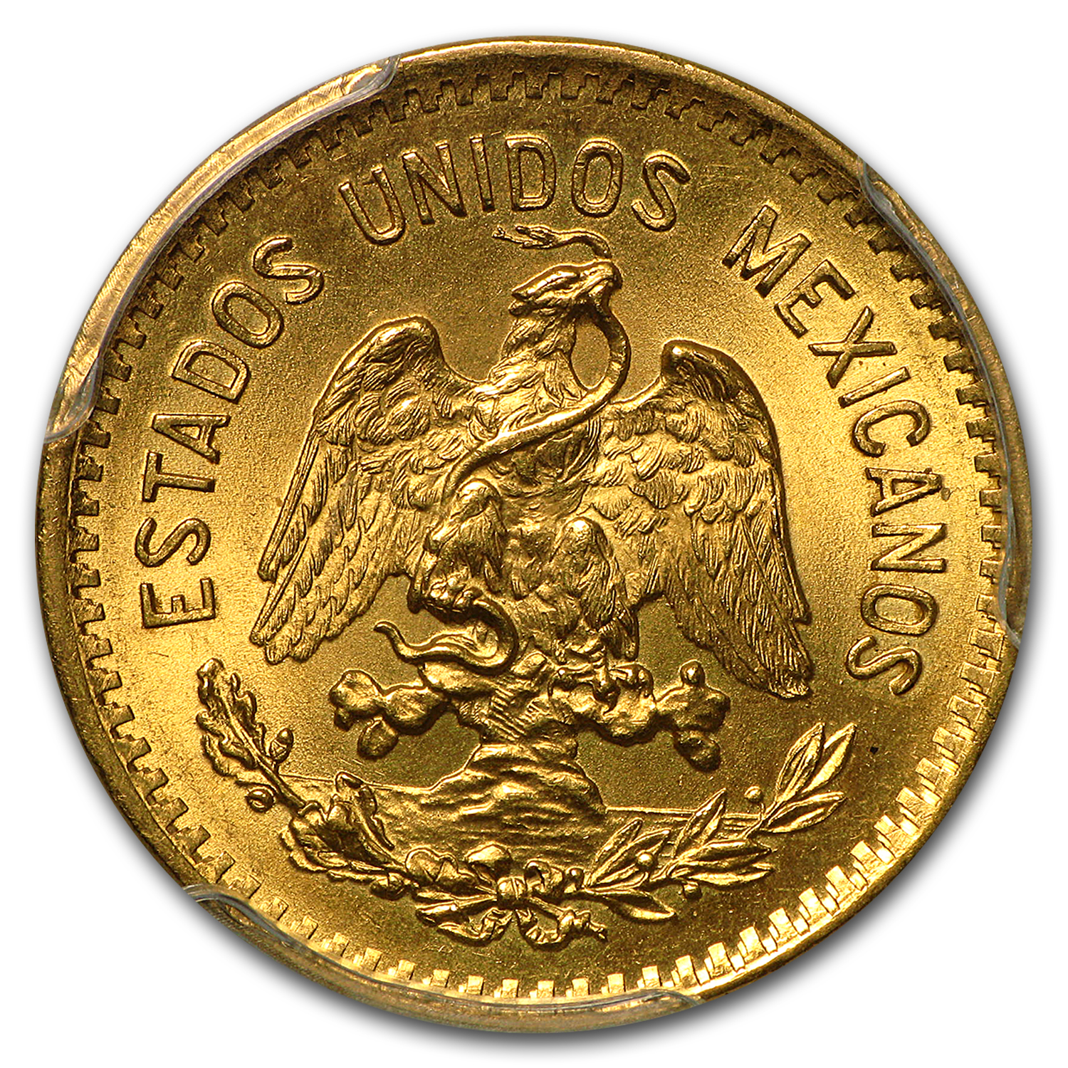 1906-M Mexico Gold 10 Pesos MS-64 PCGS