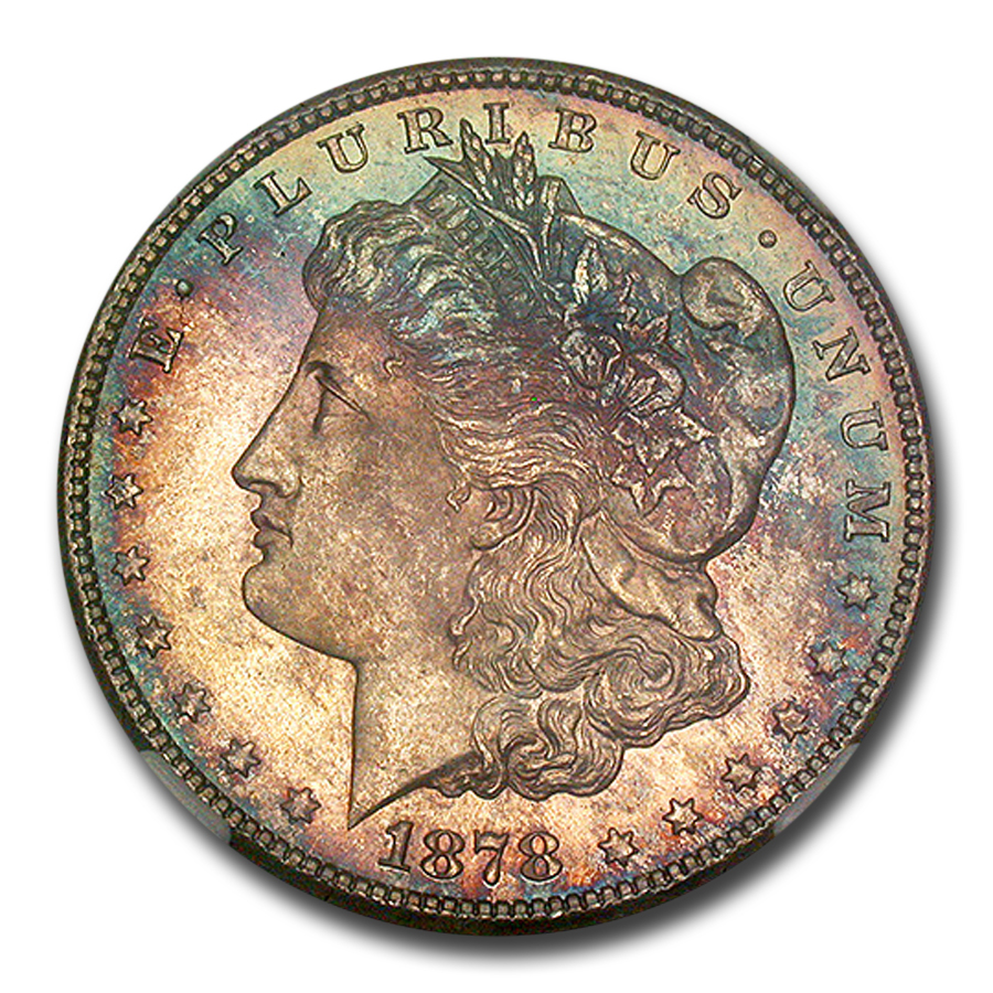 1878-S Morgan Dollar MS-65 NGC (Toned)