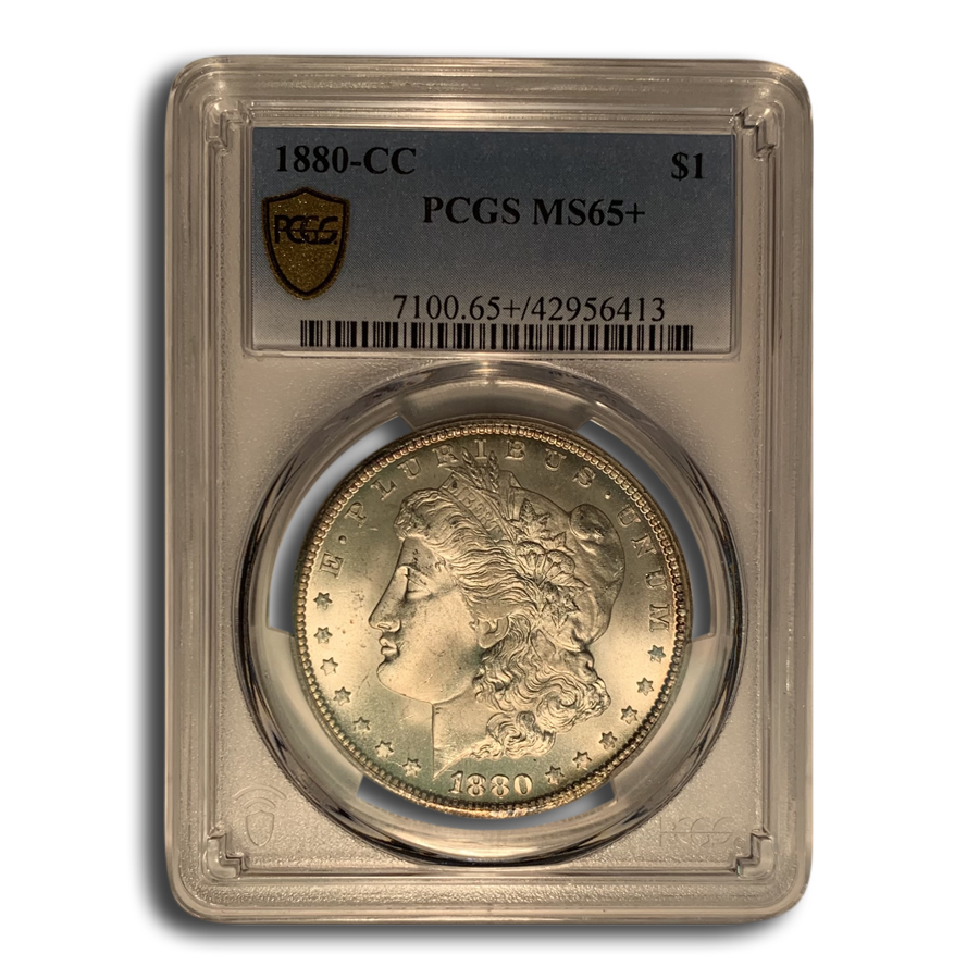 1880-CC Morgan Dollar MS-65+ PCGS