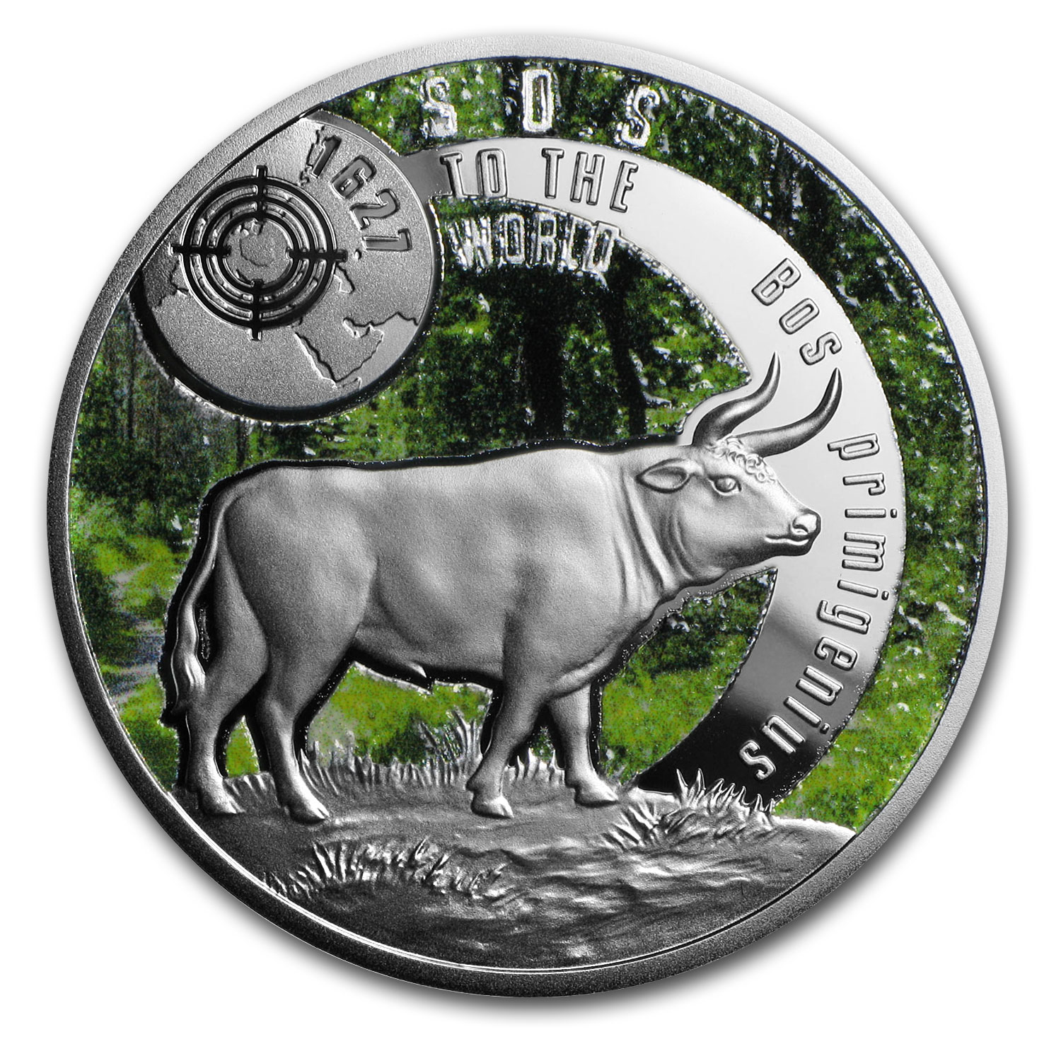 2016 Niue Silver SOS For The World They are Gone! (Aurochs)