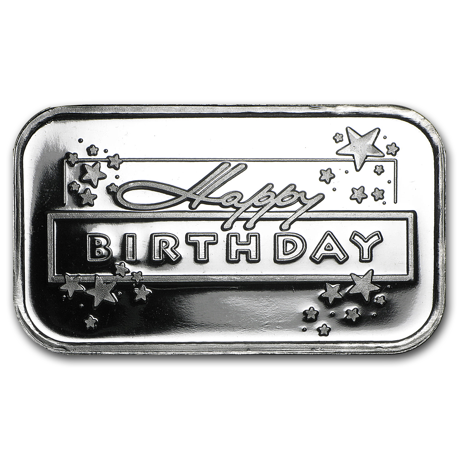1 oz Silver Bar - Happy Birthday (2016)