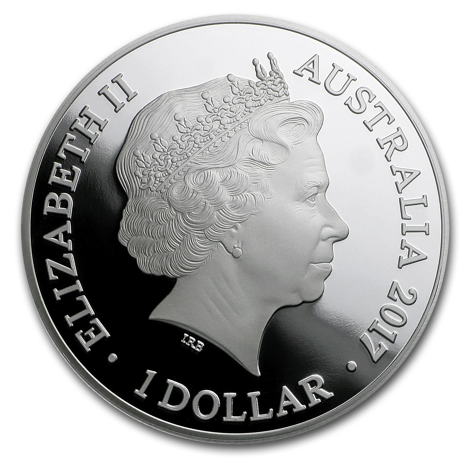 2017 Australia 1 oz Silver Year of the Rooster Proof
