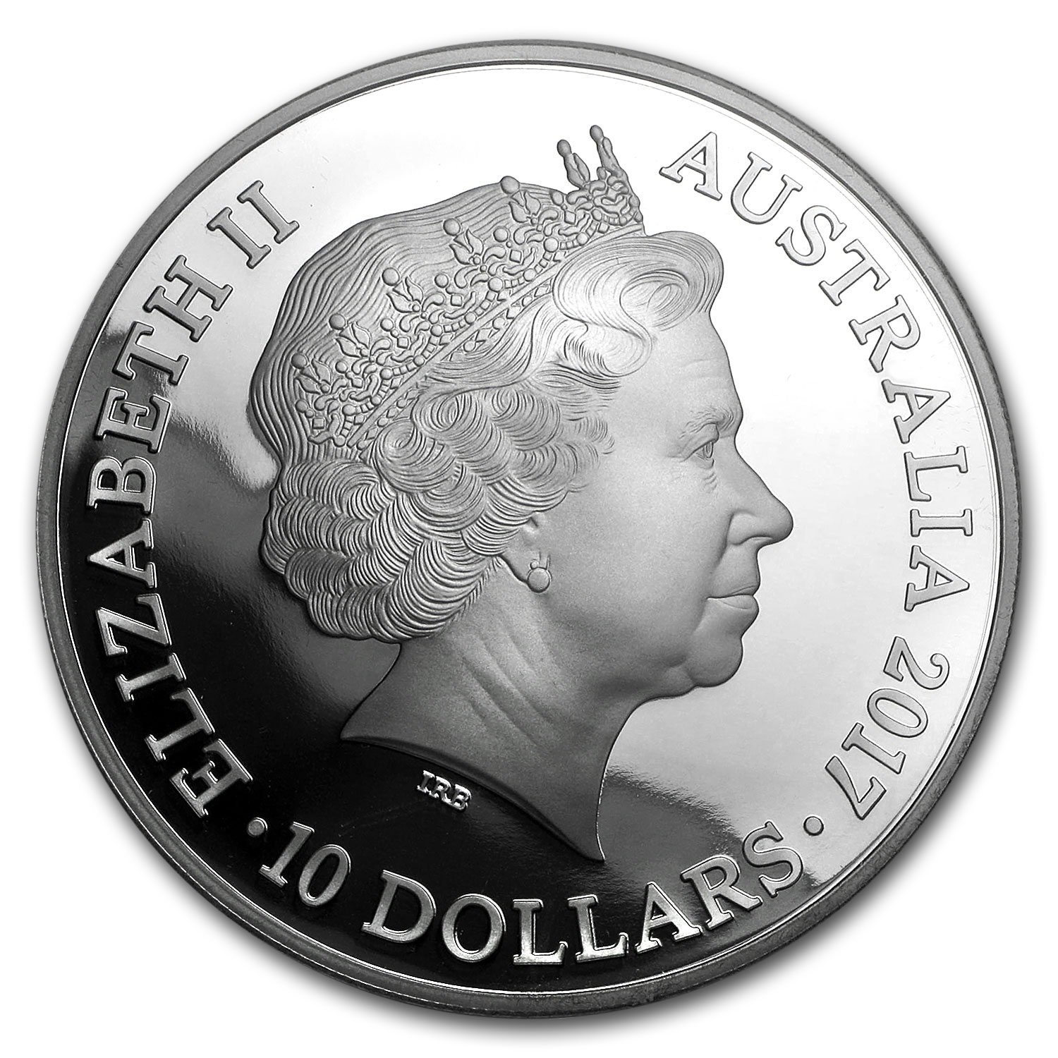2017 Australia 5 oz Silver Year of the Rooster Proof