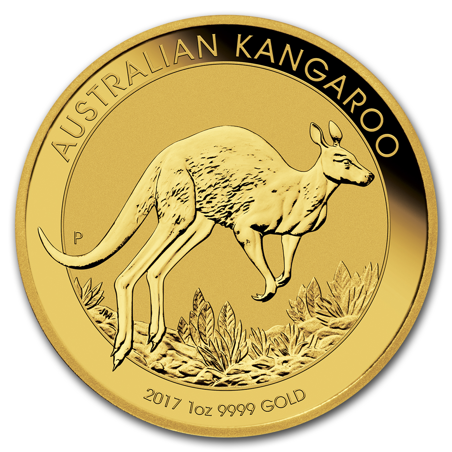 2017 Australia 1 oz Gold Kangaroo (MintDirect® Single)