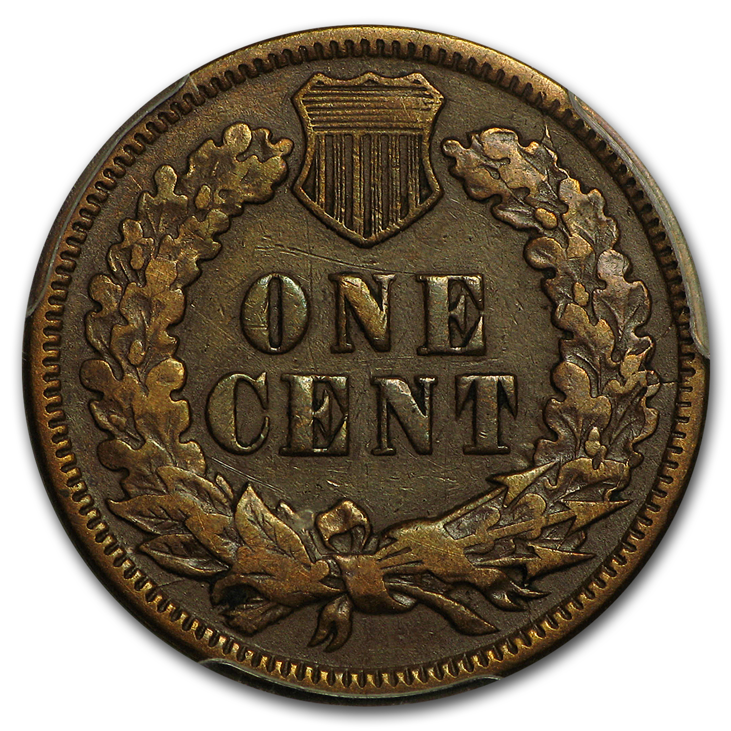 1872 Indian Head Cent Fine-15 PCGS (Brown)