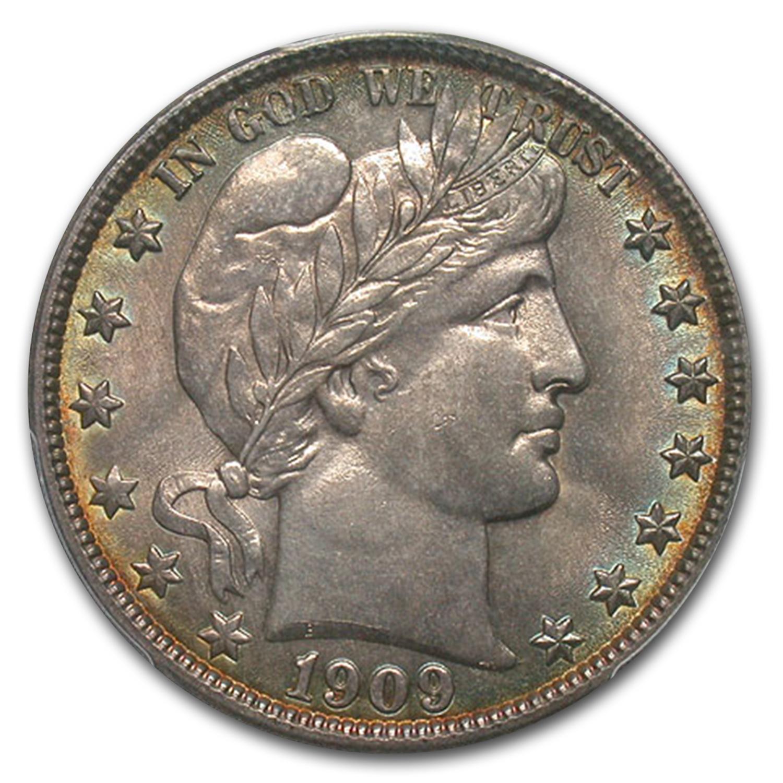 1909 O Barber Half Dollar Ms64 Pcgs Recently Added