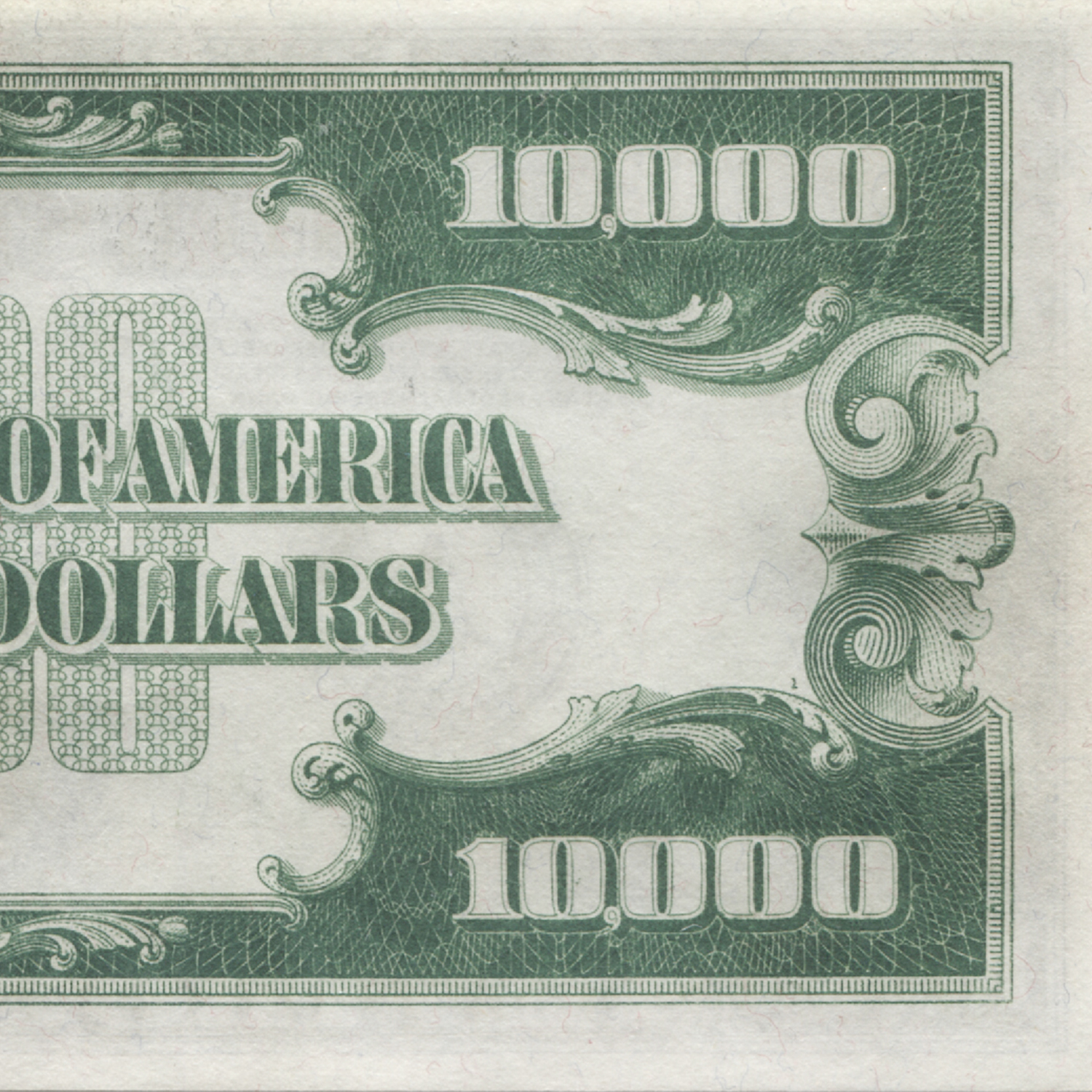 1934 $10,000 Federal Reserve Note Gem Uncirculated-65