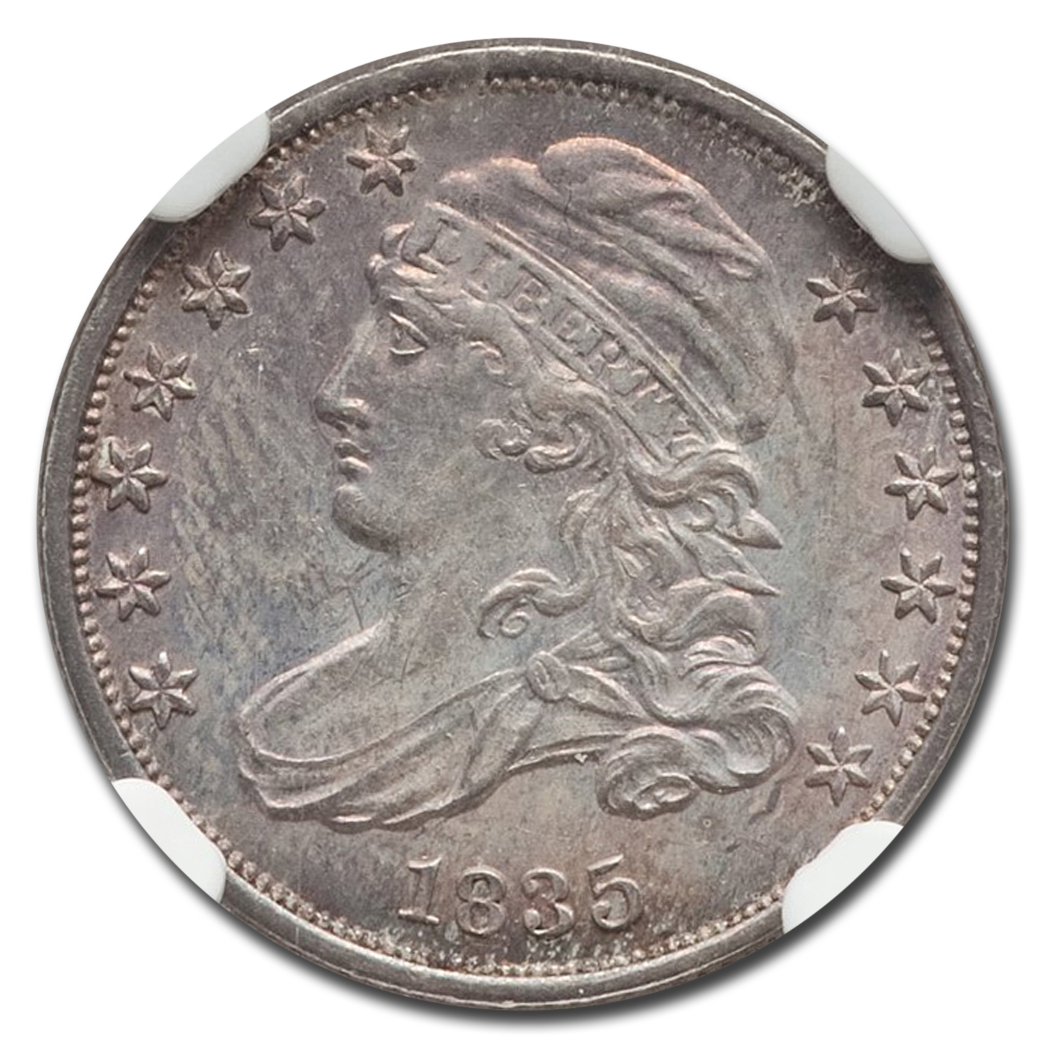 1835 Capped Bust Dime MS-64 NGC