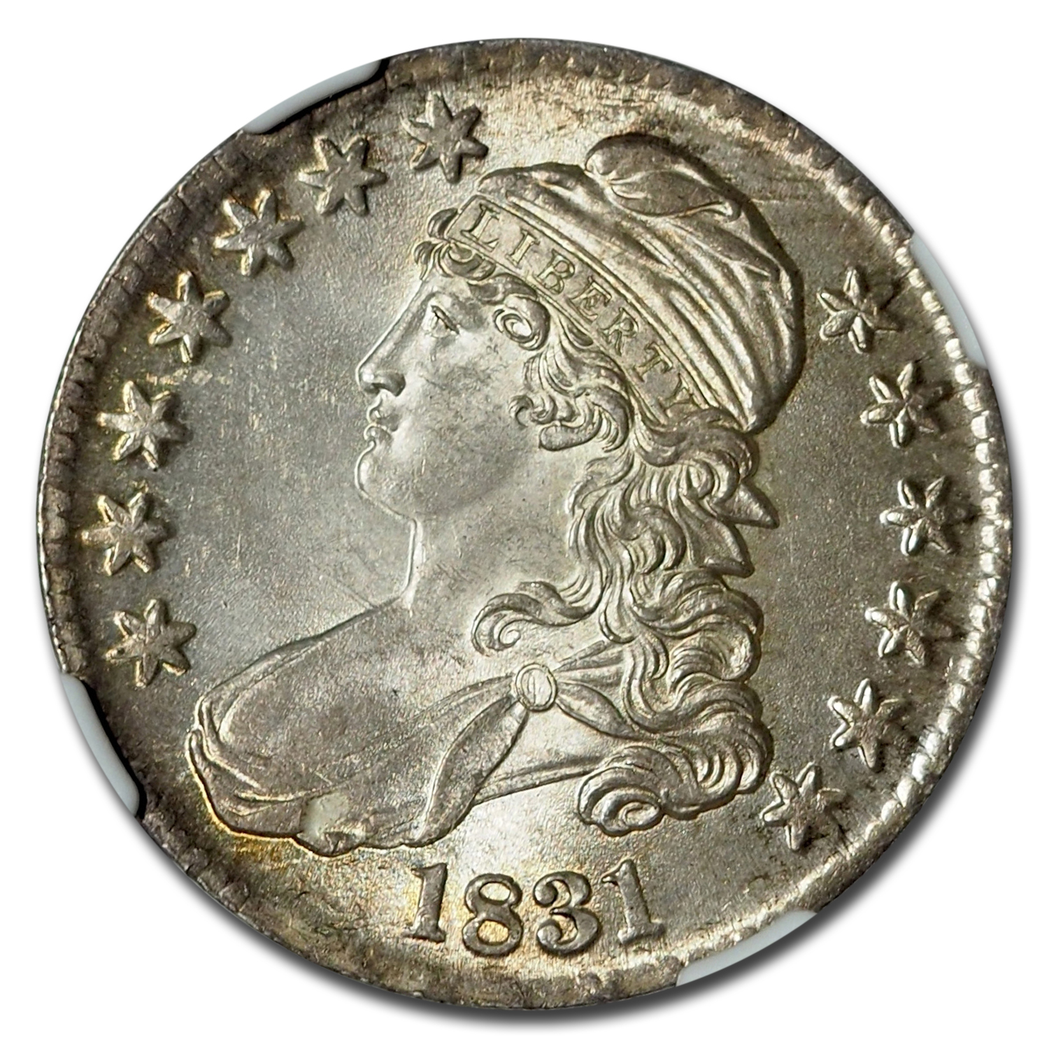 1831 Capped Bust Half Dollar MS-65 NGC