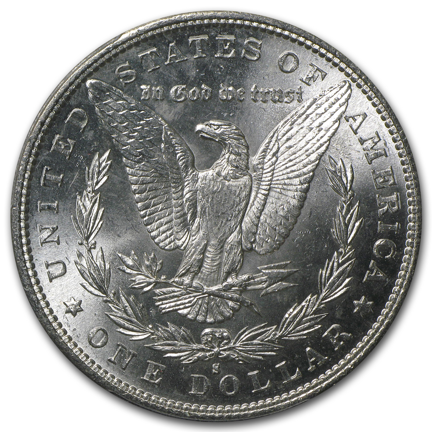 1882-S Morgan Dollar MS-63 PCGS