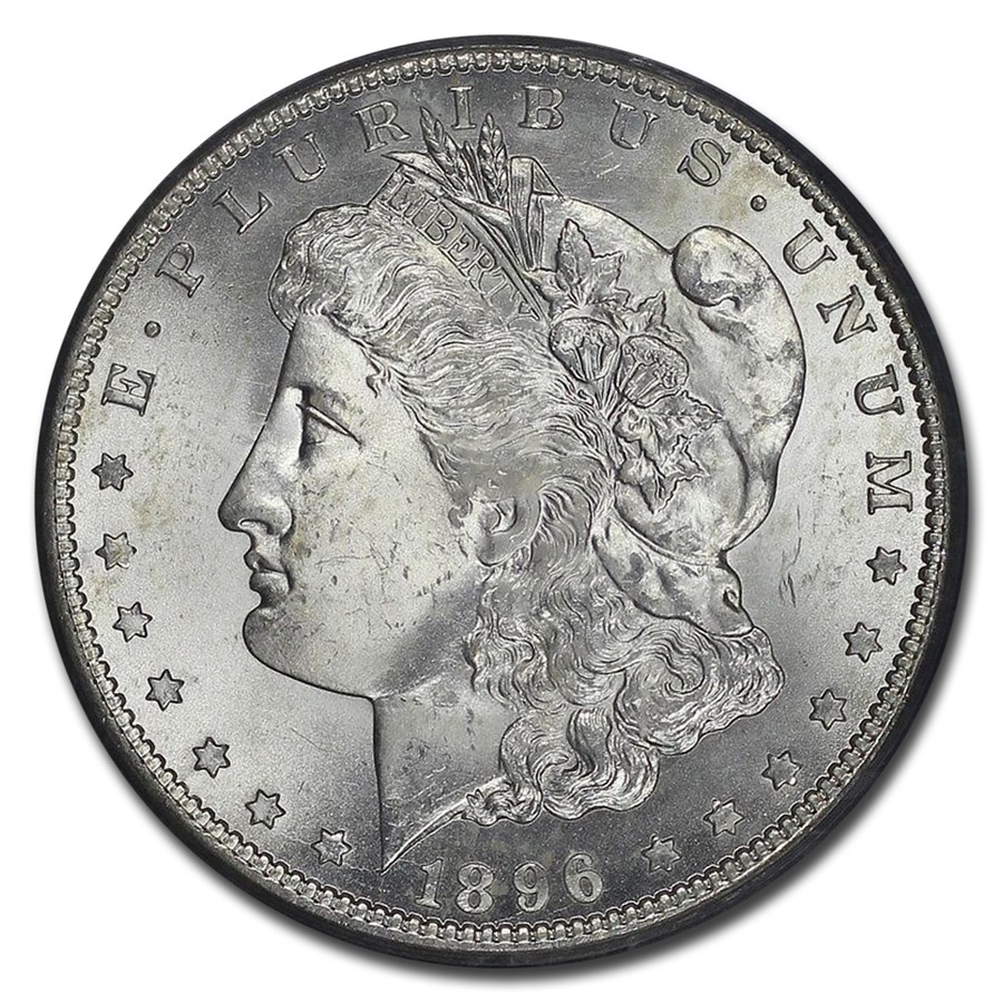 1896 S Morgan Dollar Ms65 Pcgs Recently Added