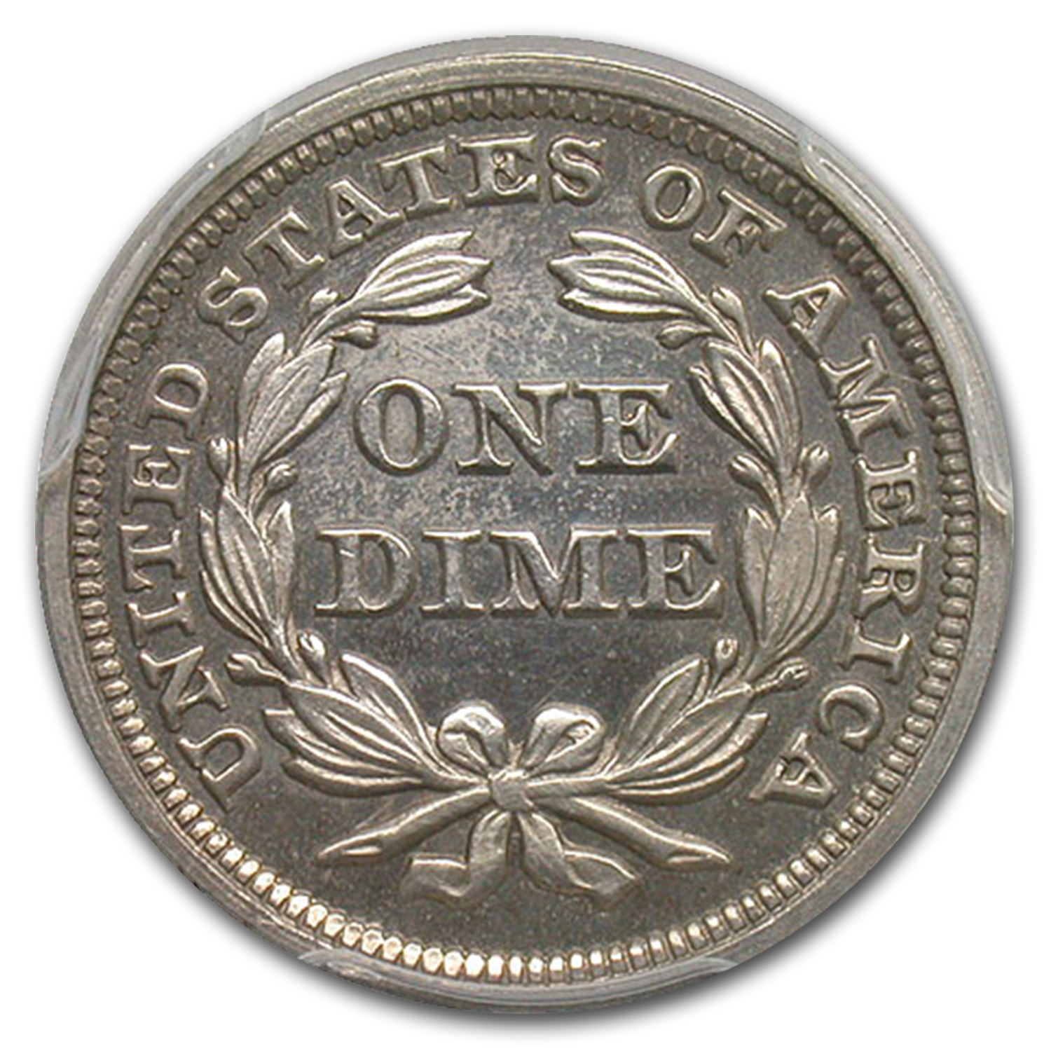 1858 Liberty Seated Dime PR-64+ Cameo PCGS