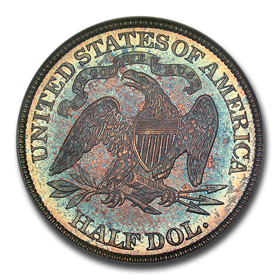 1884 Liberty Seated Half Dollar PR-66 PCGS