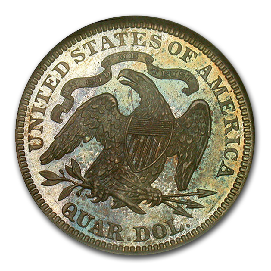 1880 Liberty Seated Quarter MS-67 NGC