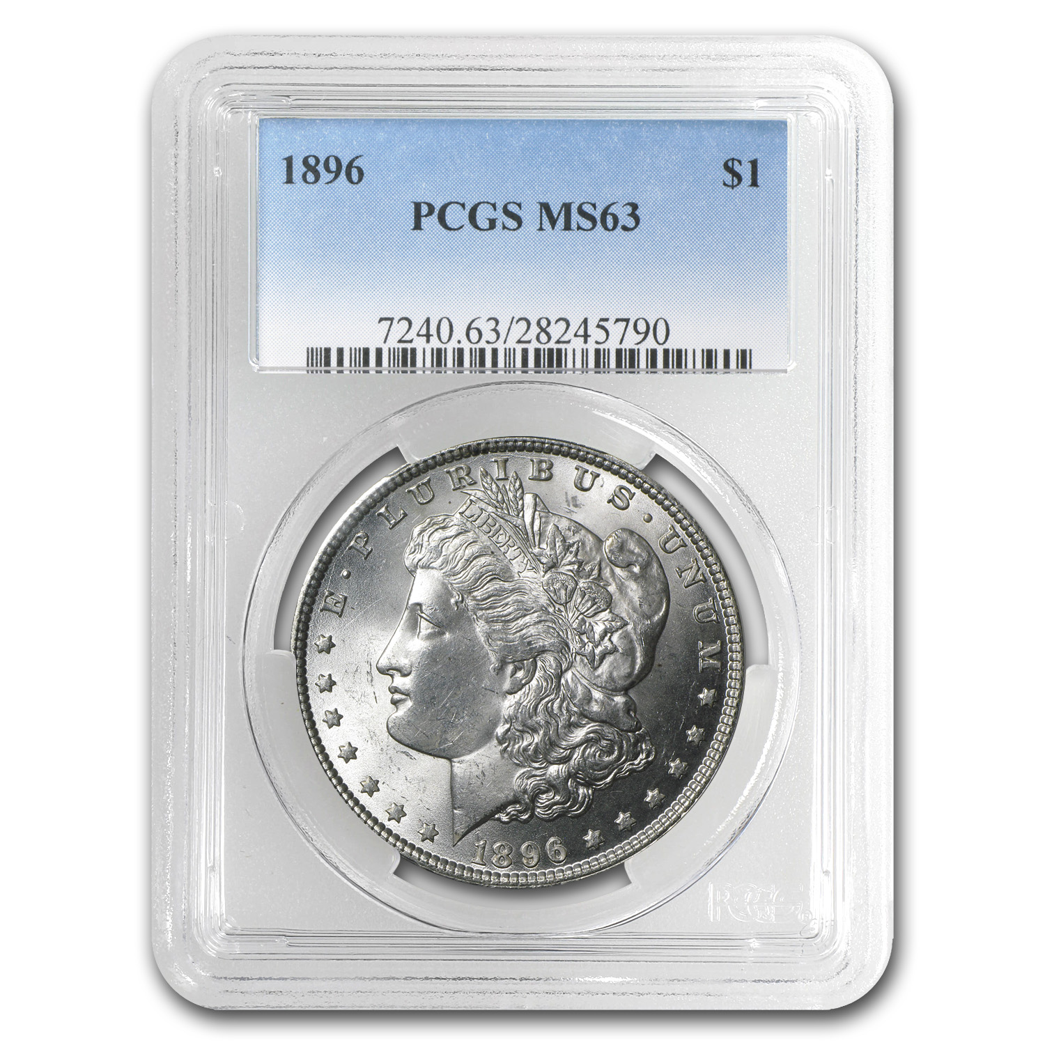 1896 Morgan Dollar MS-63 PCGS