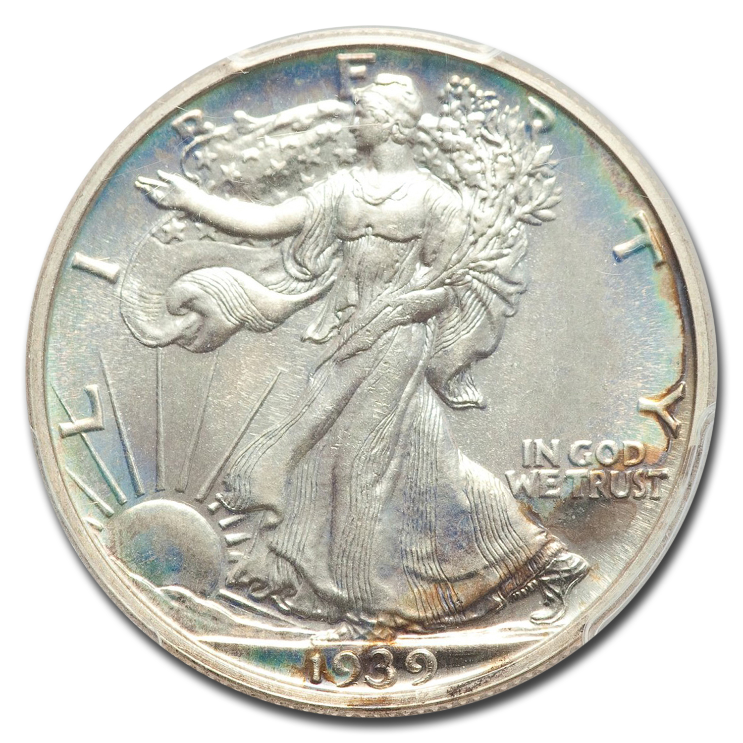 1939 Walking Liberty Half Dollar PR-68 PCGS