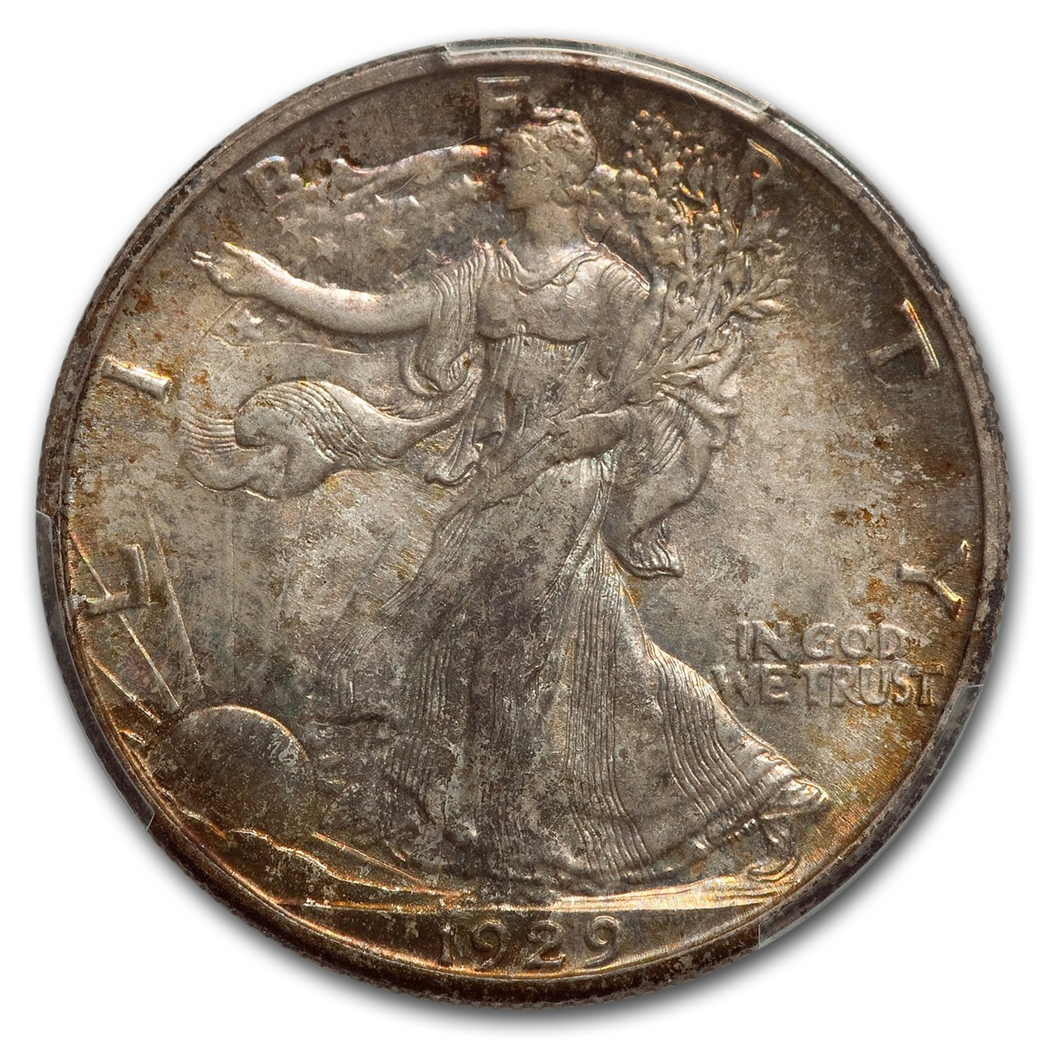 1929-S Walking Liberty Half Dollar MS-66 PCGS