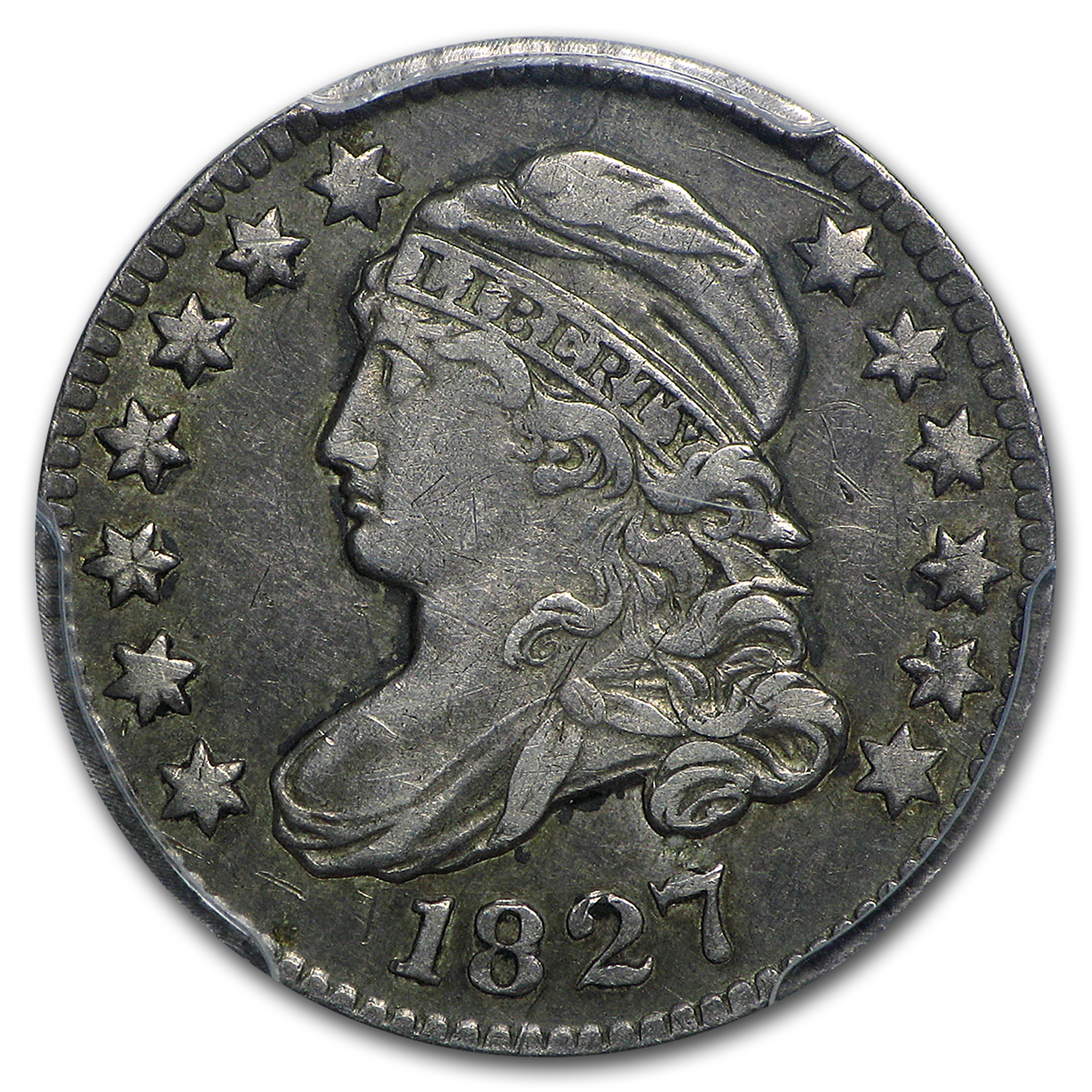 1827 Capped Bust Dime XF-45 PCGS