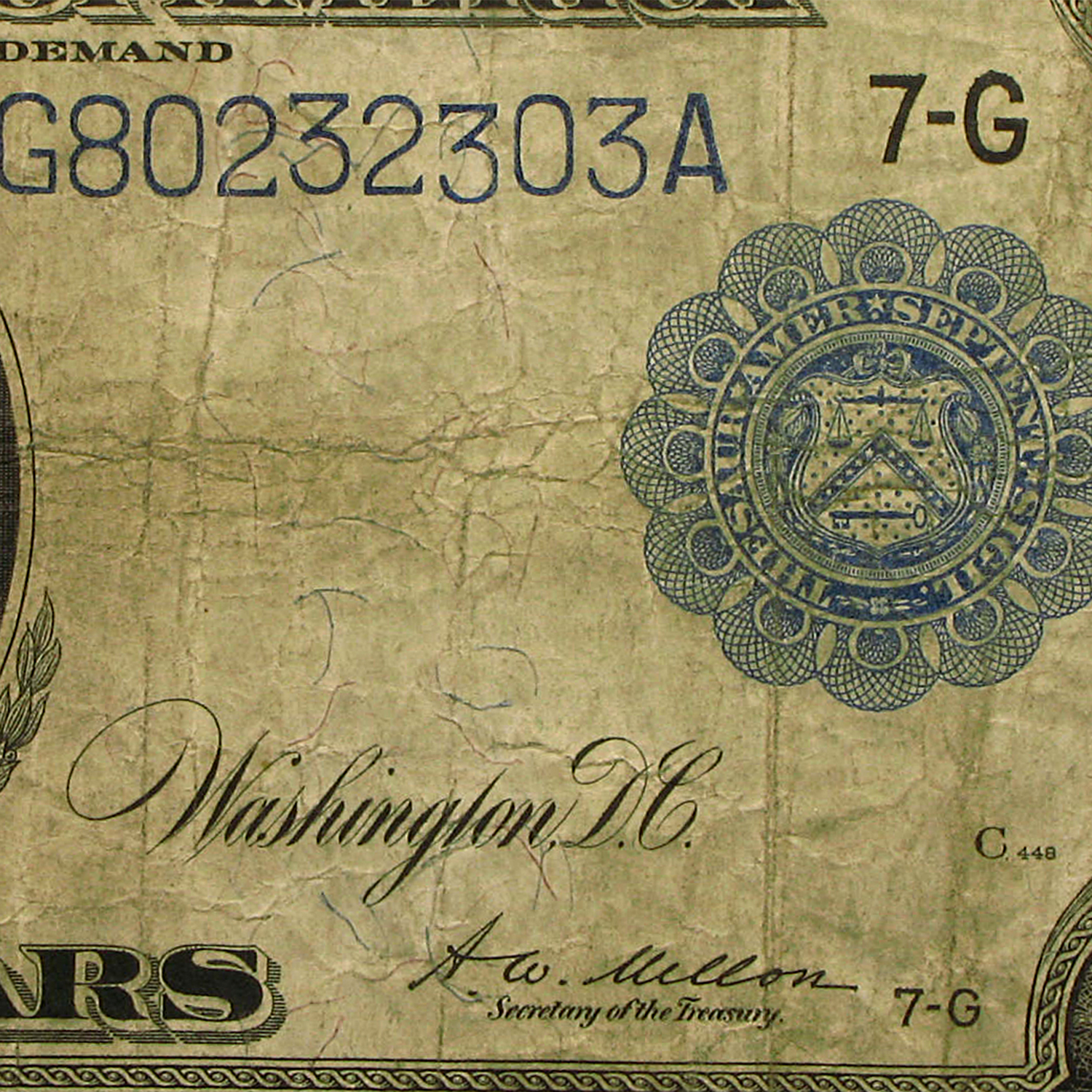 1914 (G-Chicago) $10 FRN VG