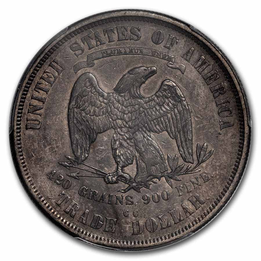1875-CC Trade Dollar XF-40 PCGS