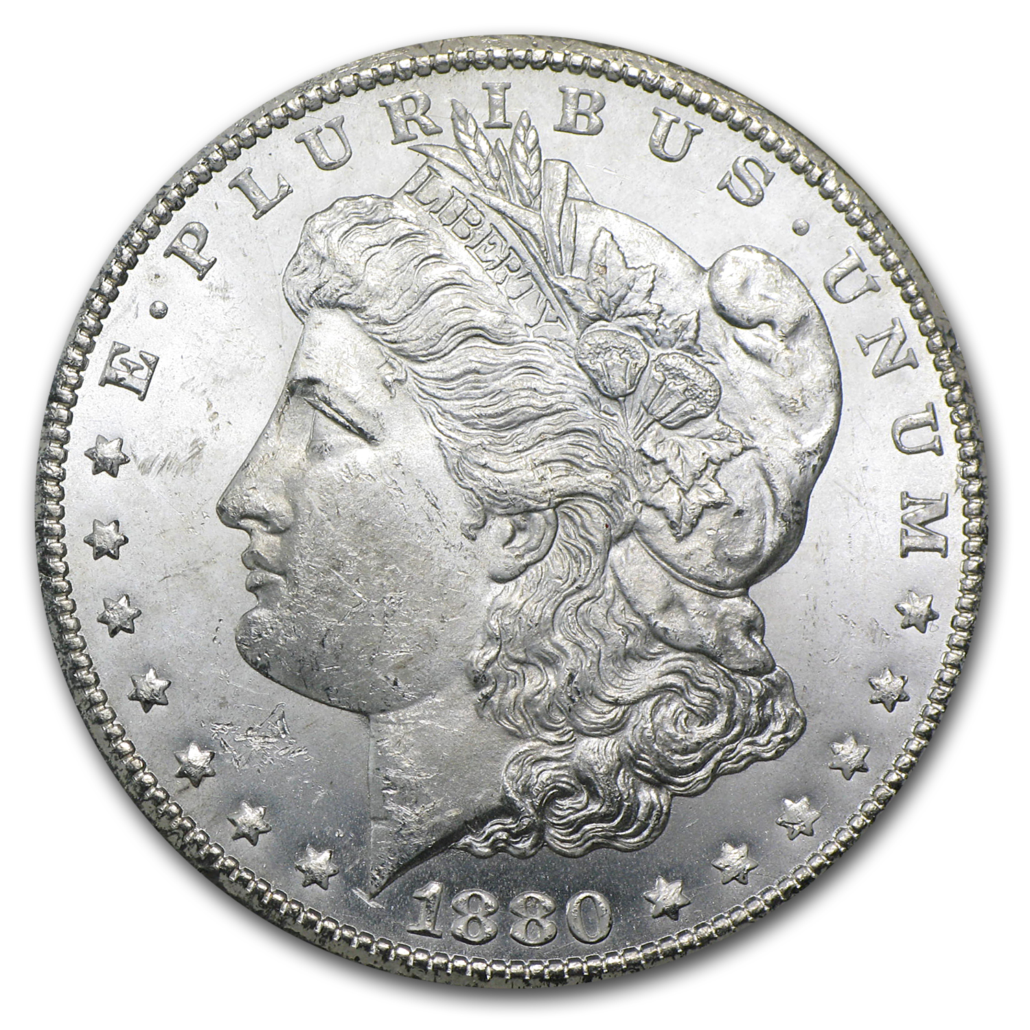 1880/79-CC Morgan Dollar BU