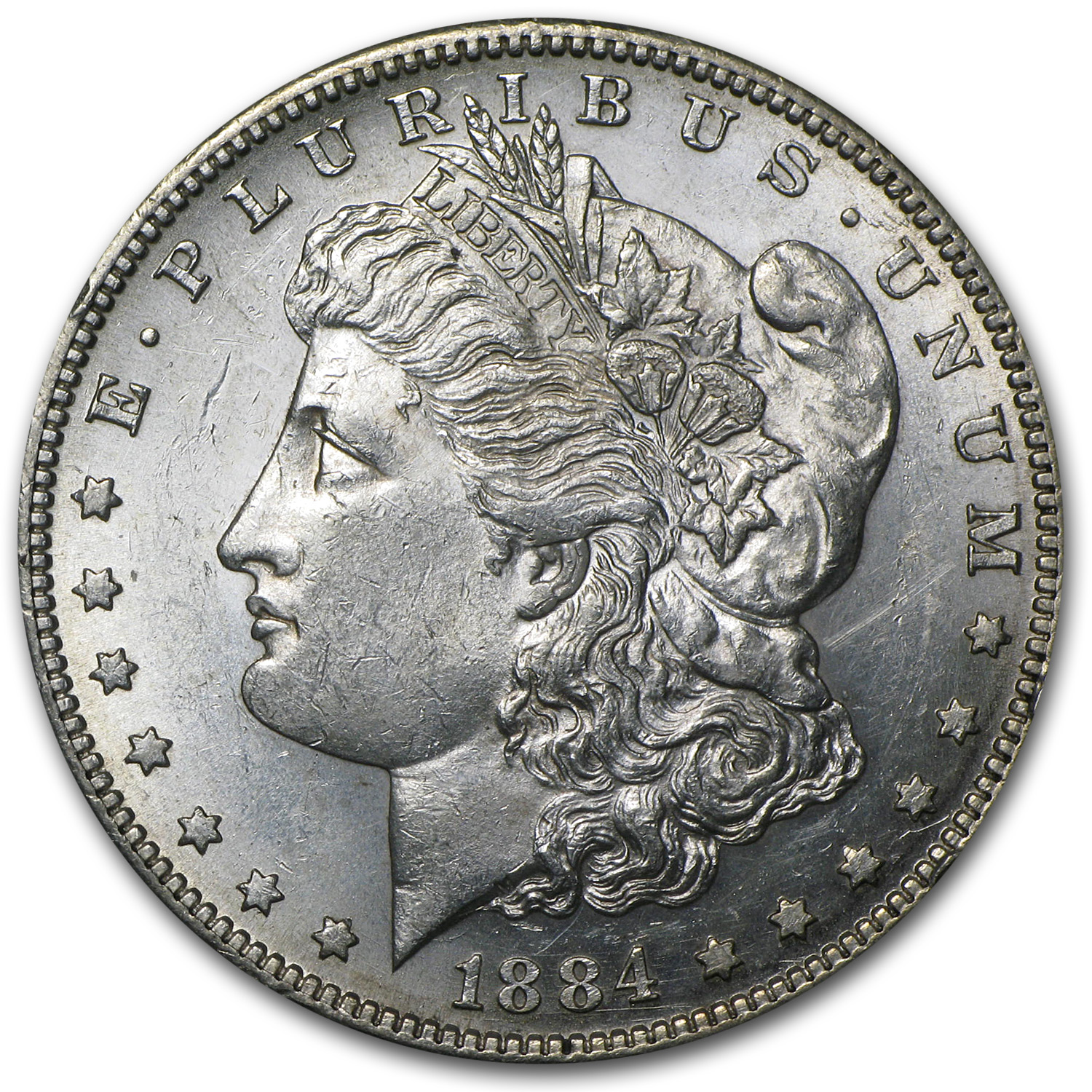 1884-S Morgan Dollar BU