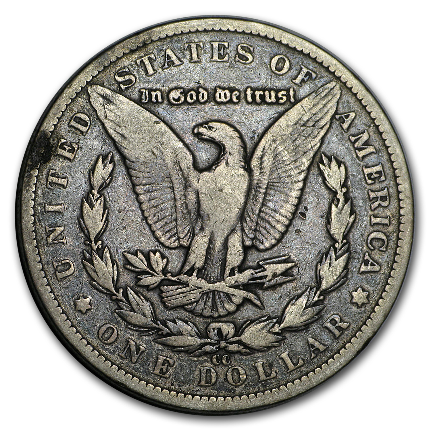 1891-CC Morgan Dollar VG