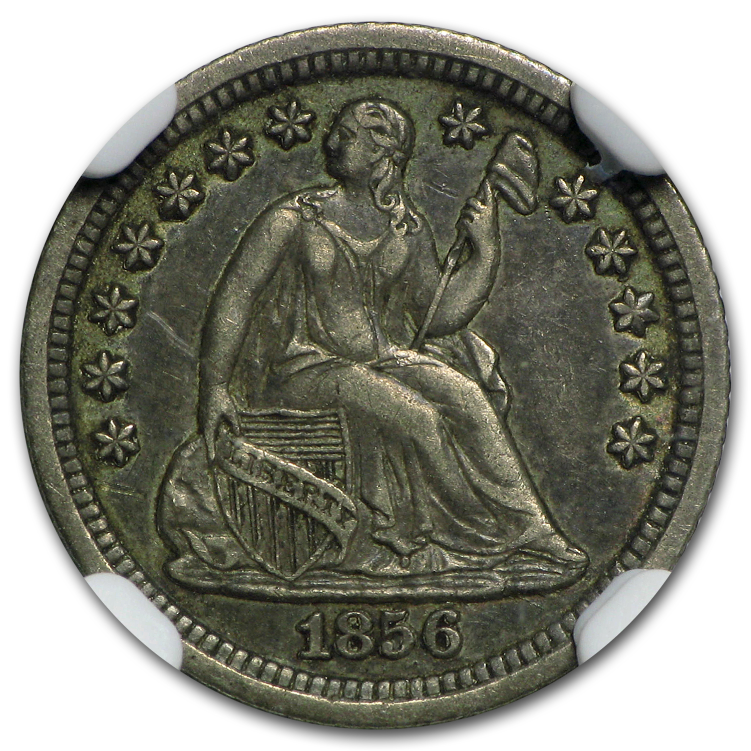 1856-O Liberty Seated Half Dime XF-45 NGC