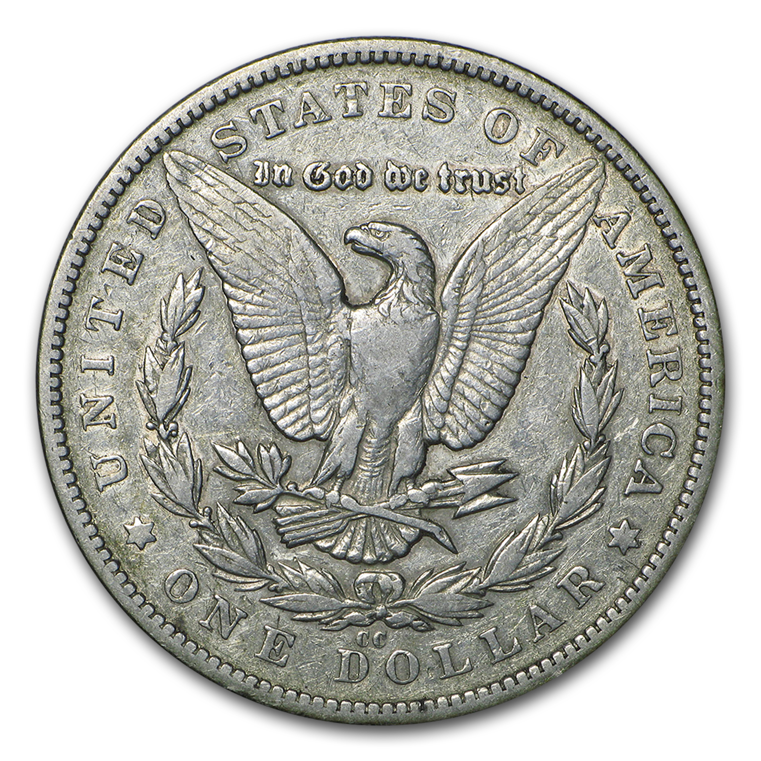 1879-CC Morgan Dollar Clear CC VF